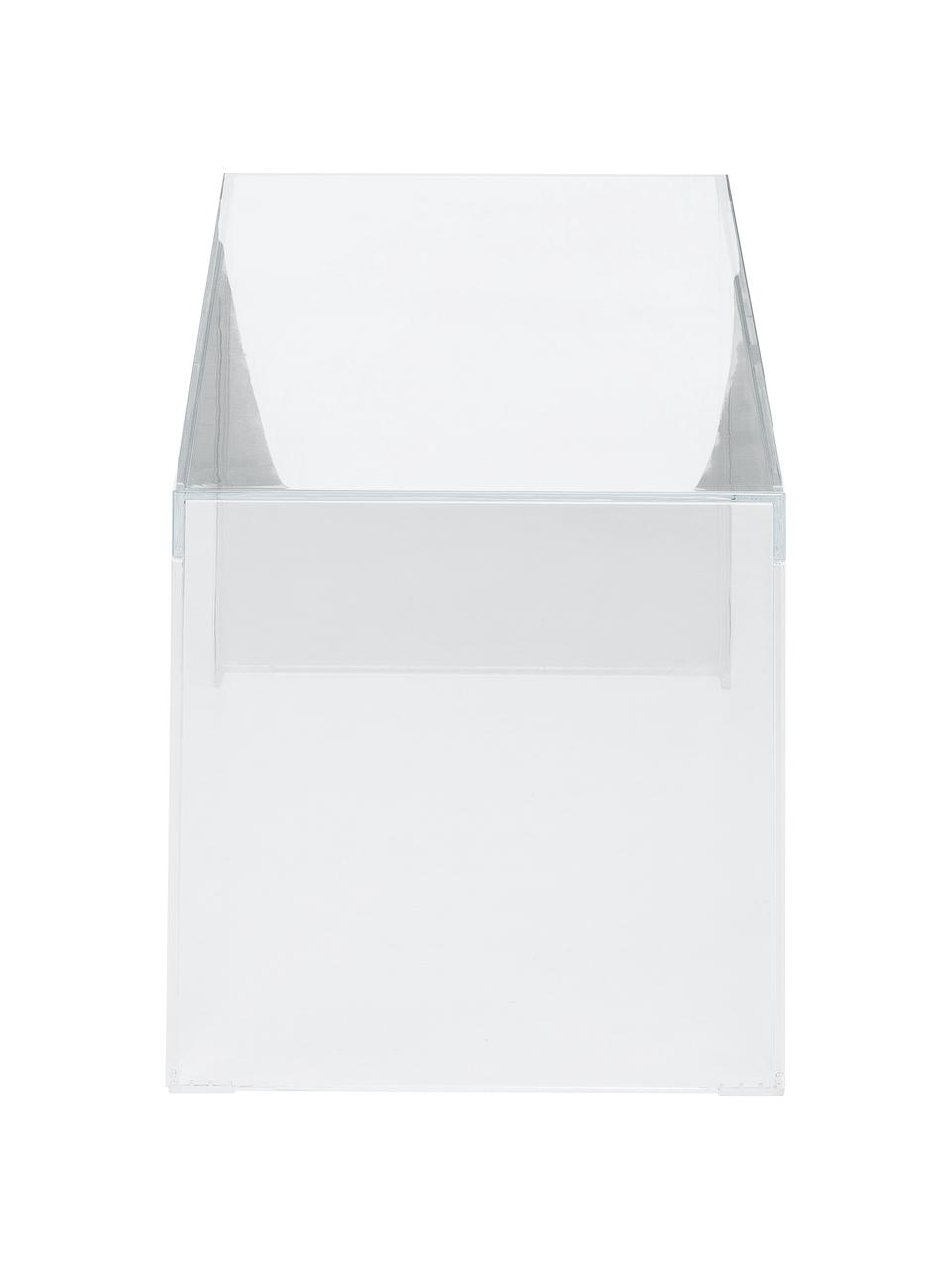 Transparenter Couchtisch Invisible, Kunststoff, Transparent, 120 x 40 cm