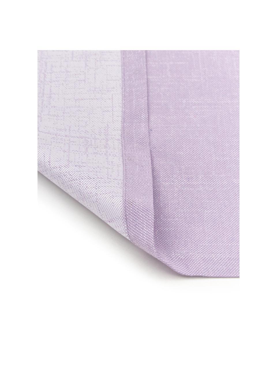 Tischläufer Riva in Lila, 55% Baumwolle, 45% Polyester, Lila, 40 x 145 cm
