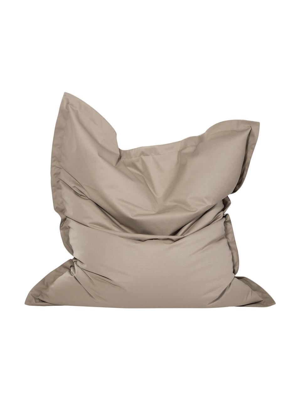 Worek do siedzenia Meadow, Tapicerka: poliester powlekany poliu, Greige, S 130 x W 160 cm