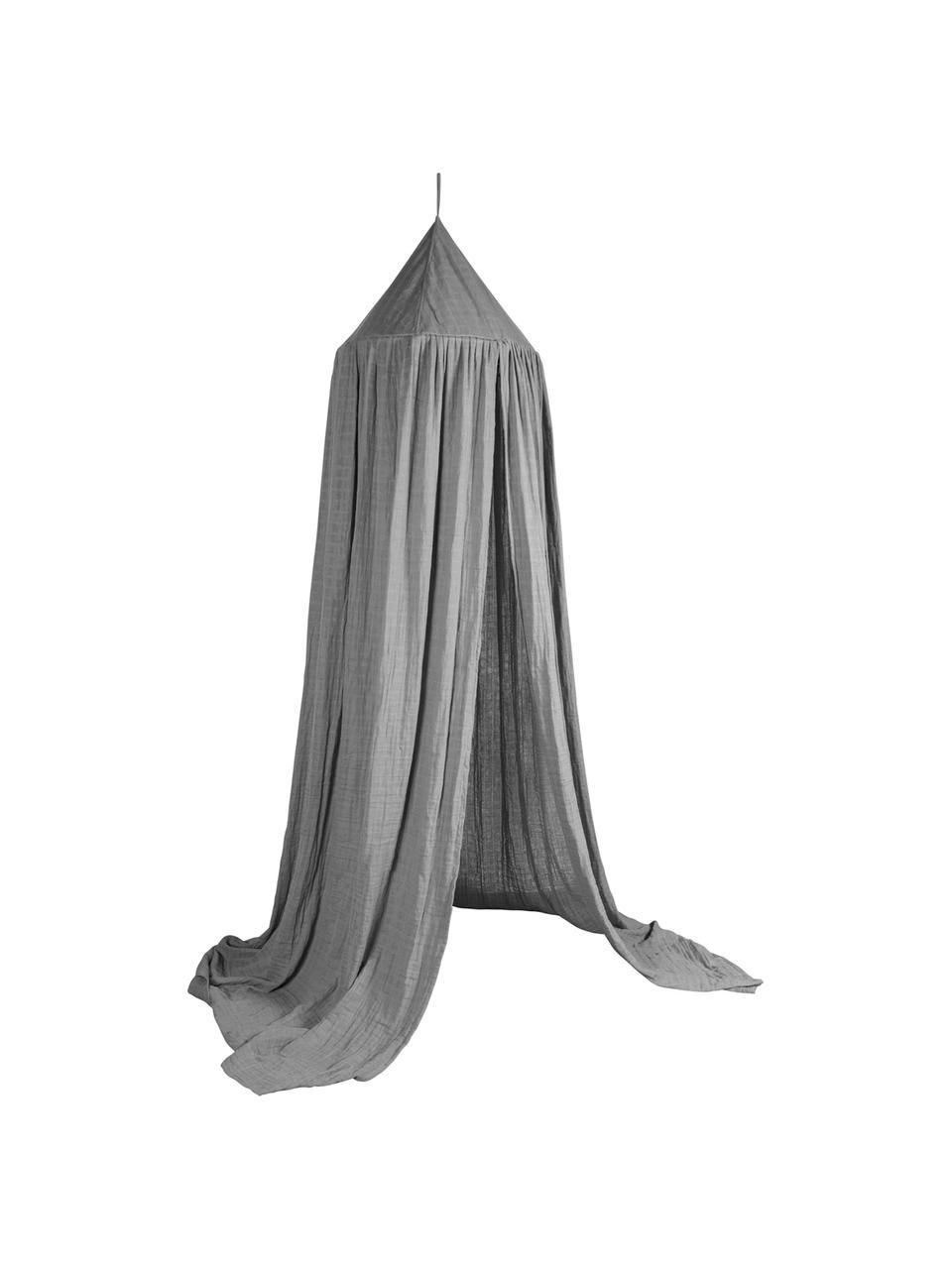Betthimmel Stars, Bezug: Baumwolle, Grau, Ø 50 x H 240 cm