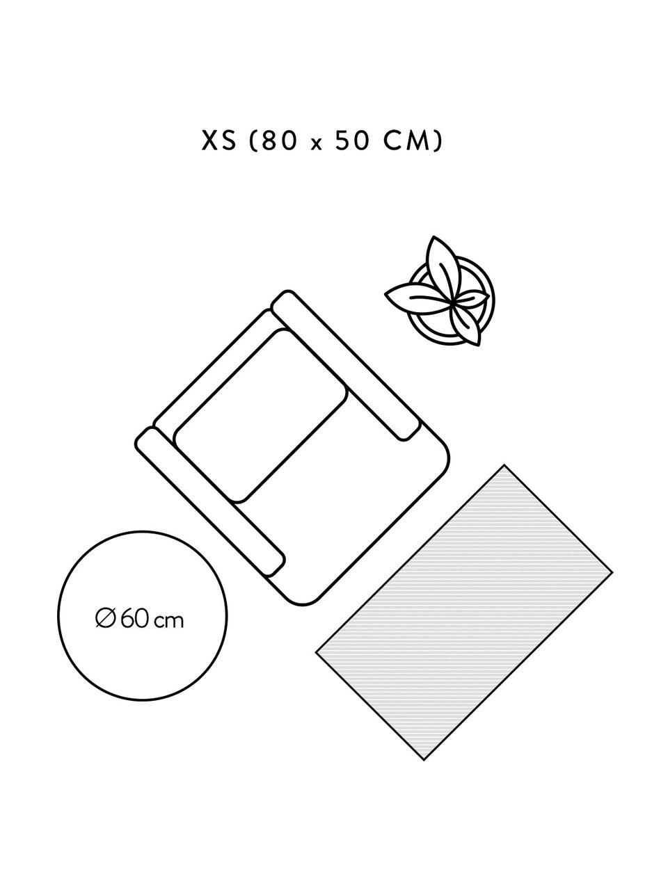 Ręcznie tkany dywan z bawełny Agneta, 100% bawełna, Biały, S 200 x D 300 cm (Rozmiar L)