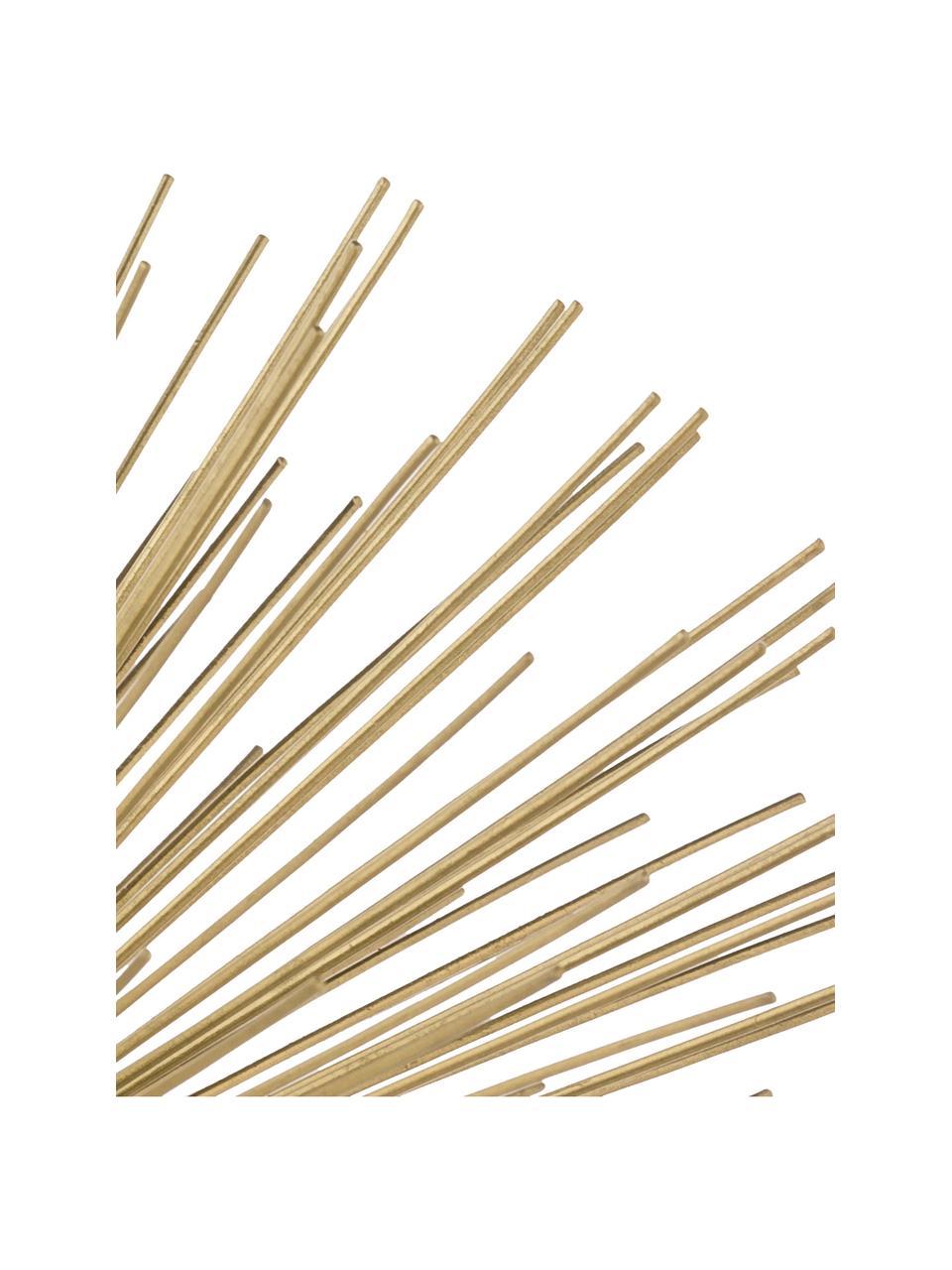 Dekoracja Marburch, Nogi: marmur, Nasada: odcienie złotego Podstawa: czarny marmur, Ø 16 x W 11 cm