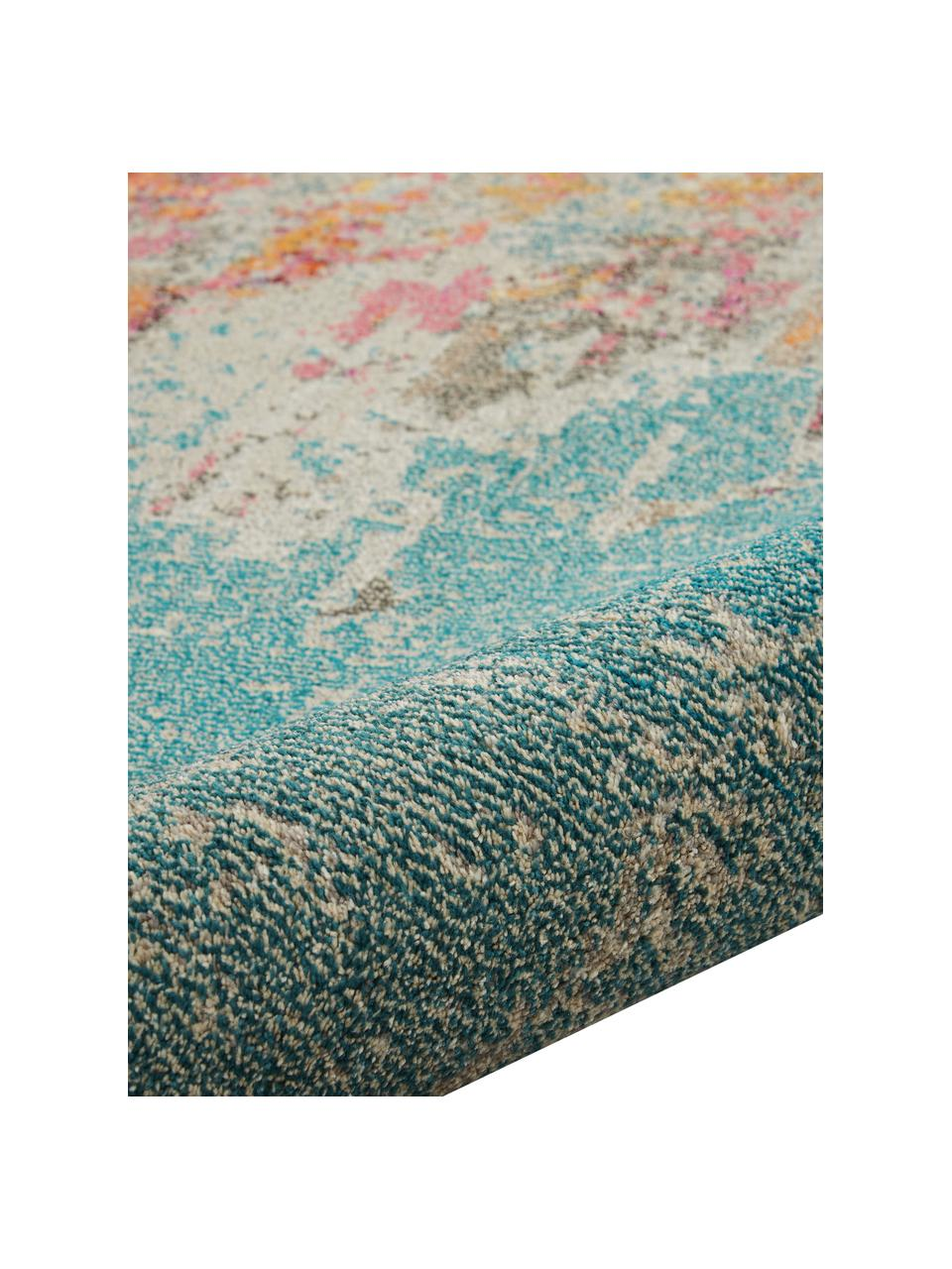 Design vloerkleed Celestial in kleur, Bovenzijde: 100% polypropyleen, Onderzijde: jute, Multicolour, B 240 x L 320 cm (Größe L)