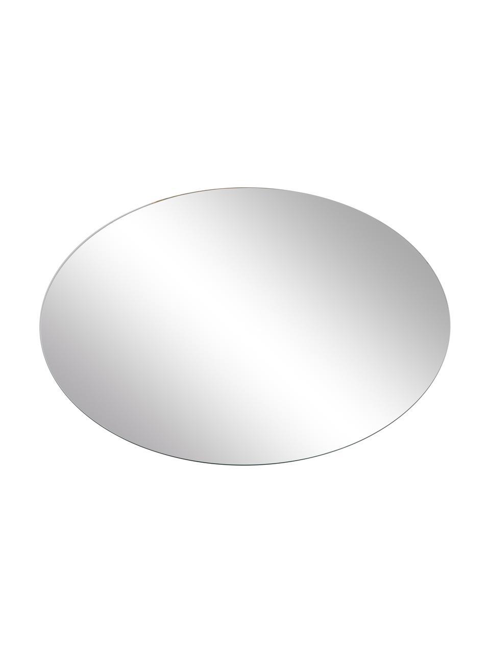 Miroir mural rond sans cadre Erin, Verre miroir