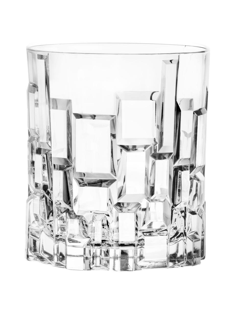 Křišťálová sklenice Etna, 6 ks, Transparentní