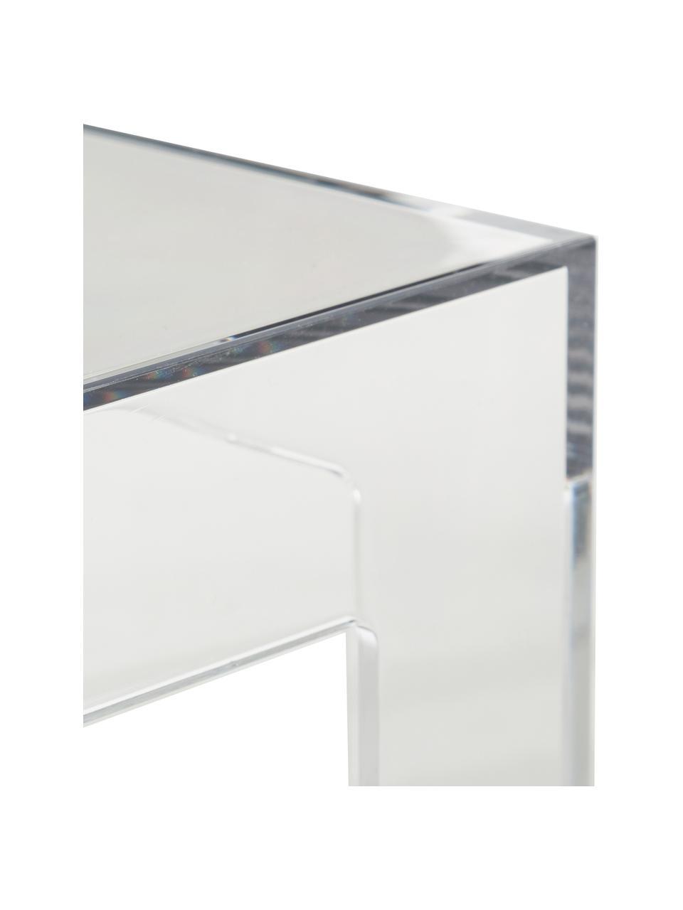 Table d'appoint transparenteJolly, Transparent