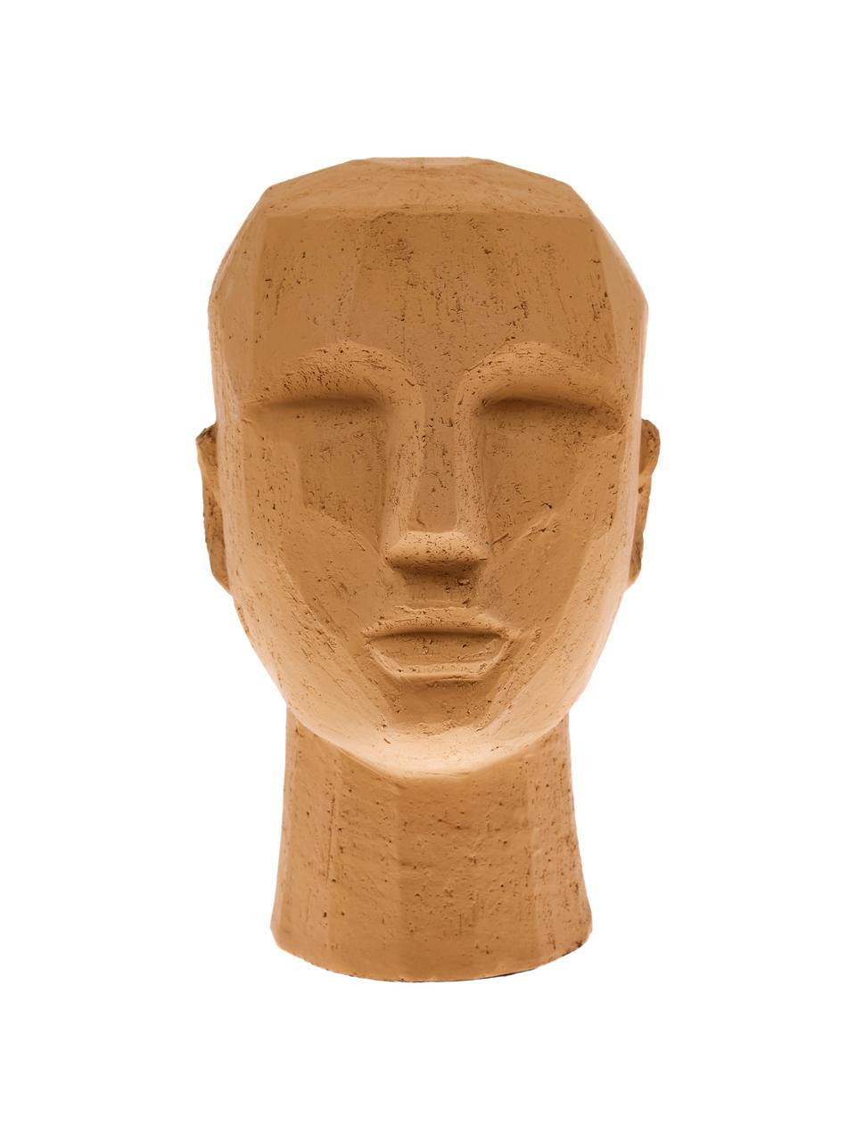 Deko-Objekt Head, Terrakotta, Terrakotta, 18 x 25 cm