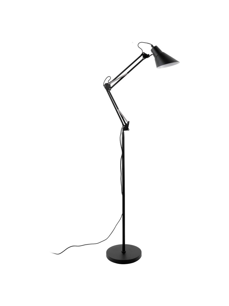 Lampa podłogowa Fit, Czarny, Ø 28 x W 165 cm