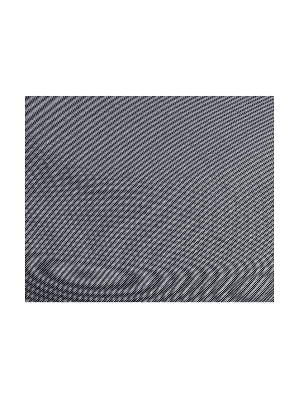 Nadmuchiwany puf Maxime, Ciemnoszary, biały, Ø 55 x 25 cm