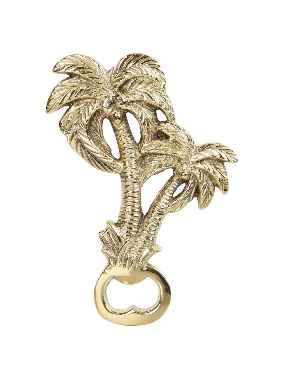 Otwieracz do butelek Palmtree, Mosiądz, Złoty, 14 x 10 cm