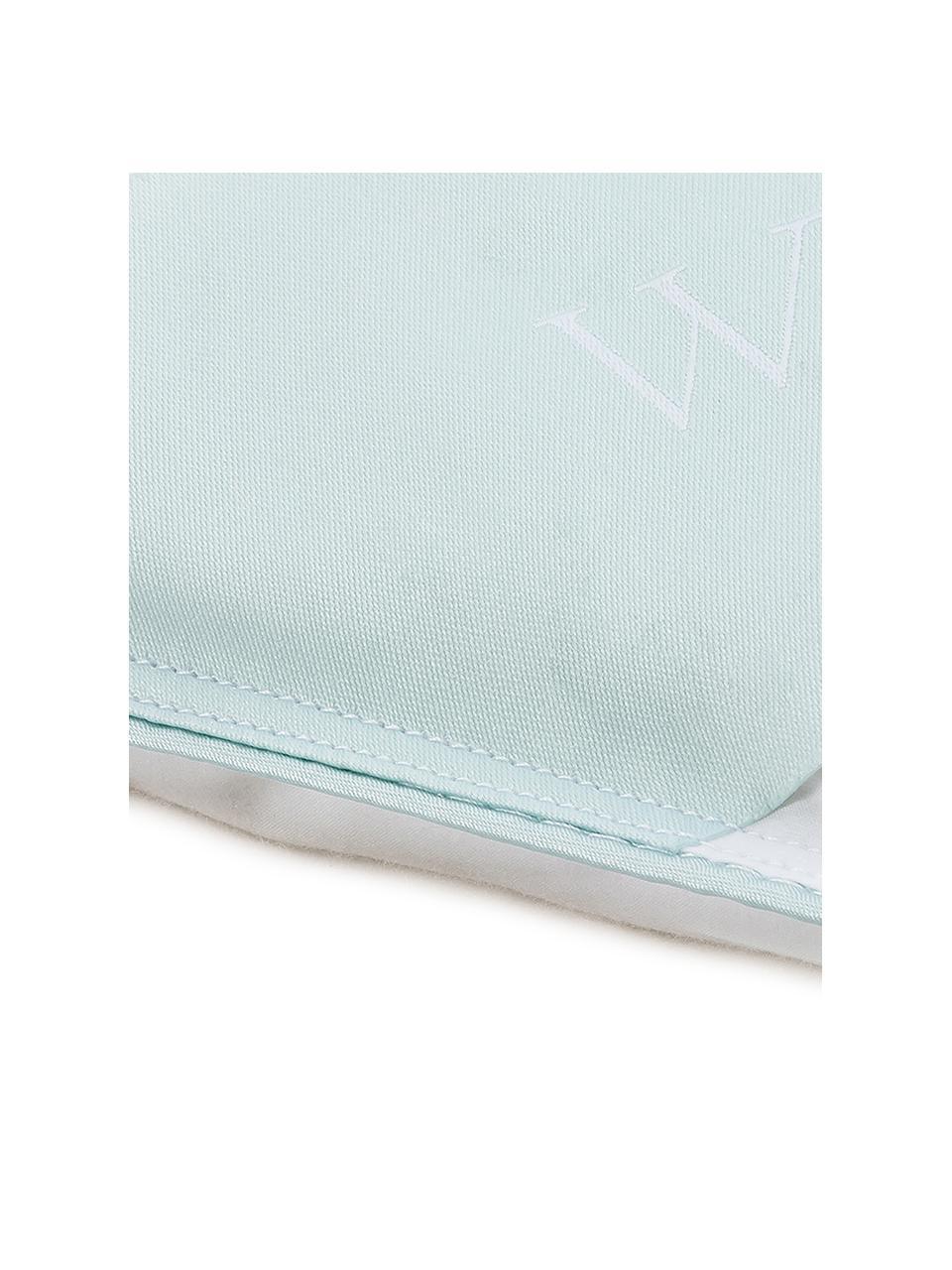 Zuiver donzen cassette-dekbed Premium, medium, Wit, 135 x 200 cm