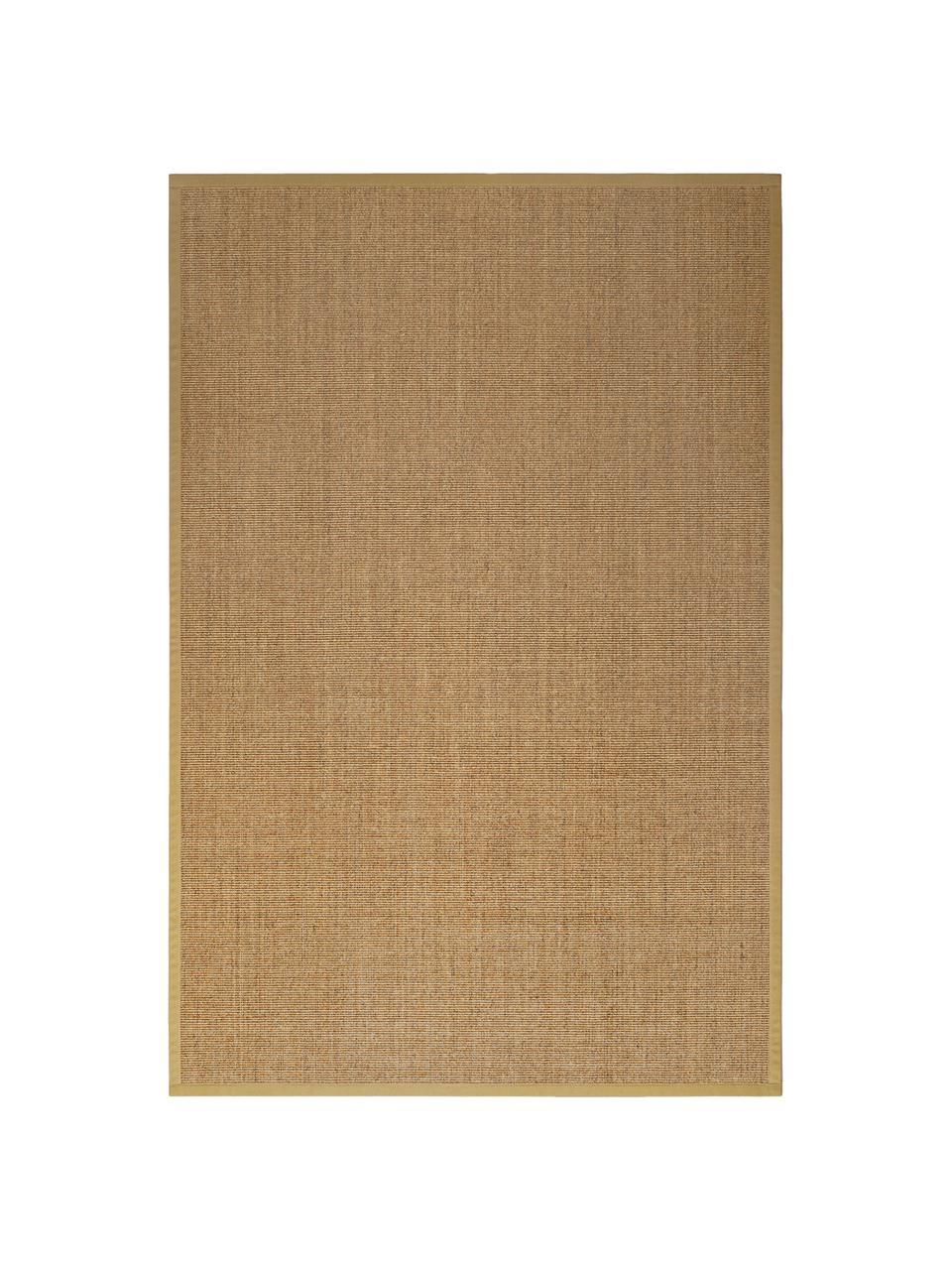 Sisalteppich Leonie in Beige, Flor: 100% Sisalfaser, Rückseite: Latex, Beige, B 300 x L 400 cm (Größe XL)