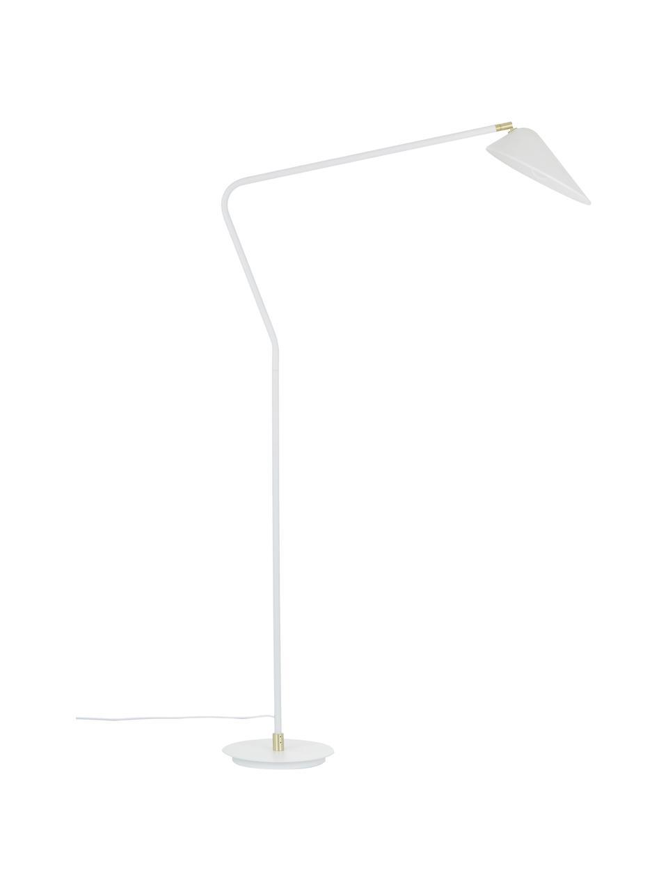 Lampa do czytania Neron, Biały, S 105 x W 171 cm