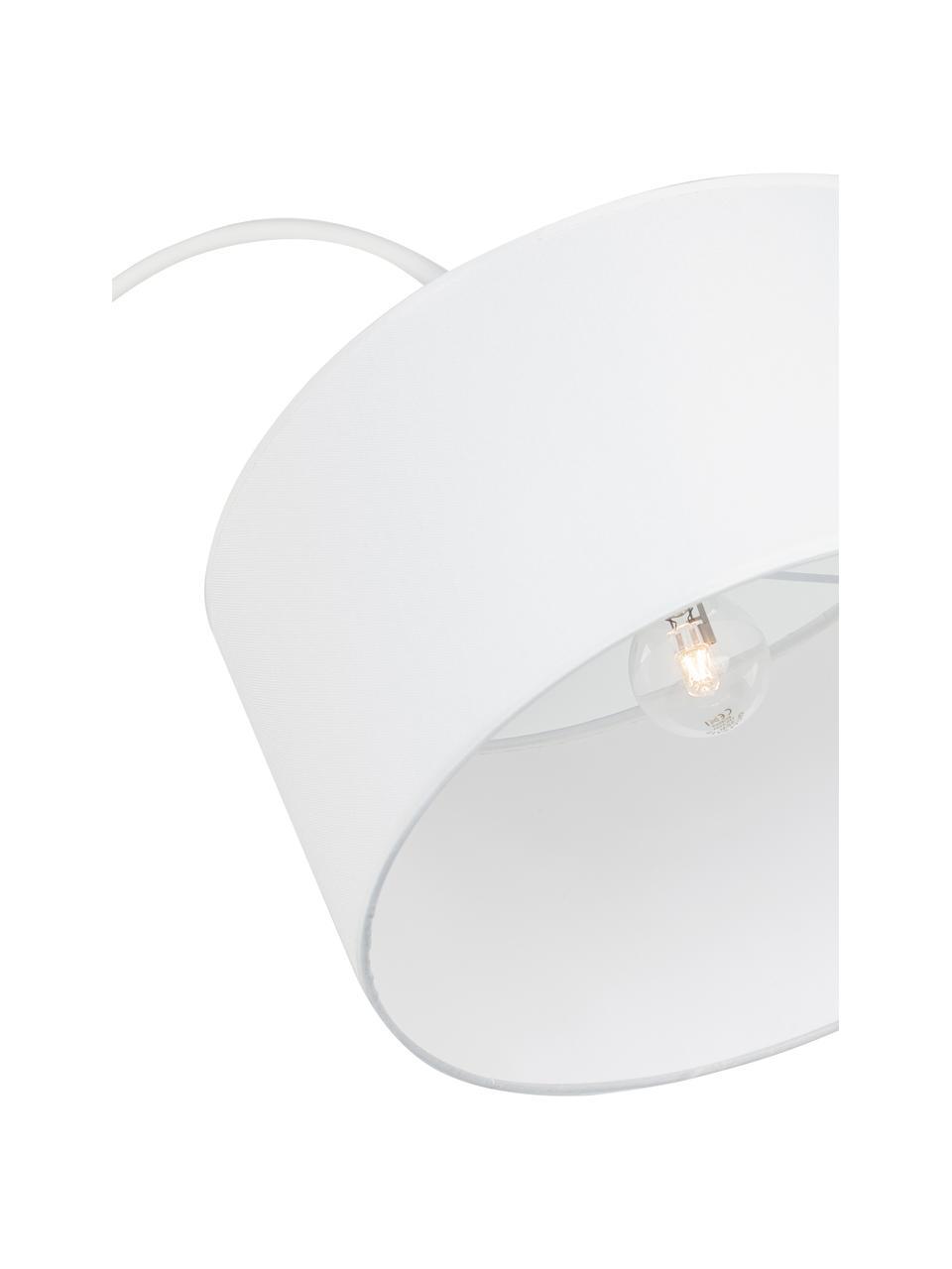 Oblouková lampa Sama, Bílá