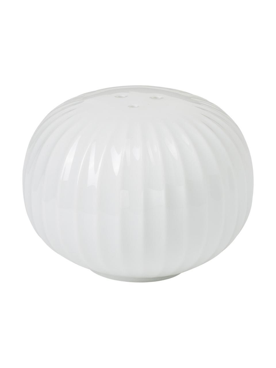 Set saliera e pepiera in ceramica Hammershøi 2 pz, 100% ceramica, smaltata, Bianco, Ø 6 x Alt. 4 cm