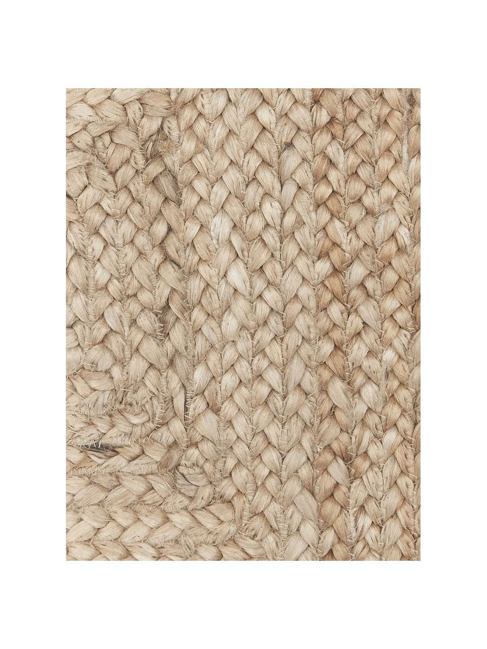 Juten deurmat Sharmila, Beige, 45 x 75 cm