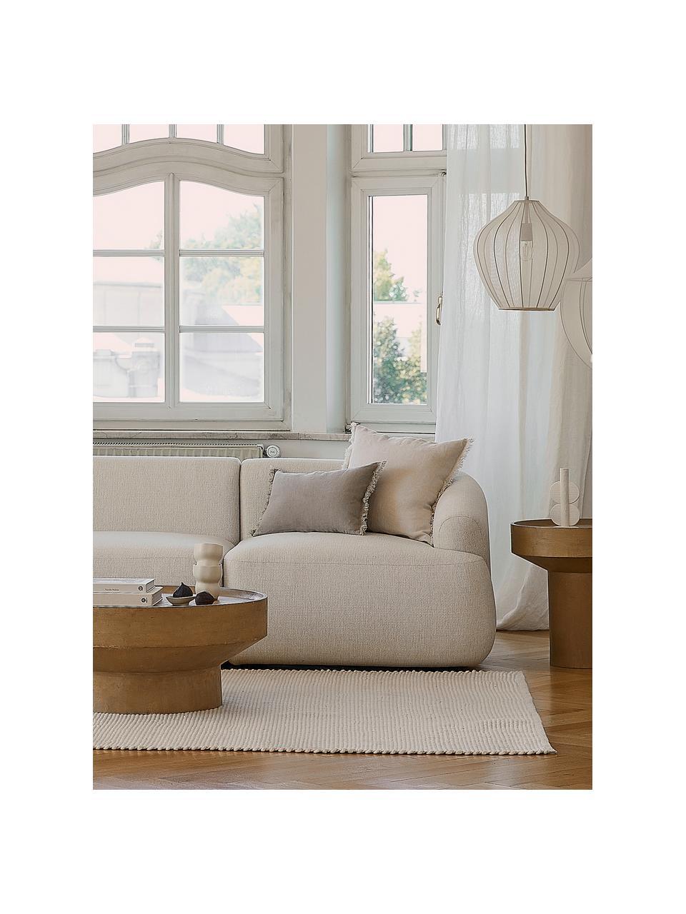 Ręcznie tkany dywan z wełny Amaro, Kremowobiały, S 120 x D 180 cm (Rozmiar S)