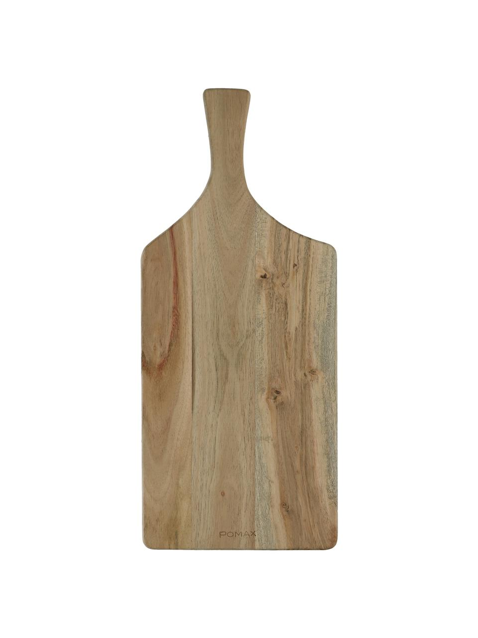 Acaciahouten snijplank Limitless, L 50 x B 22 cm, Acaciahout, Acaciahout, 22 x 50 cm