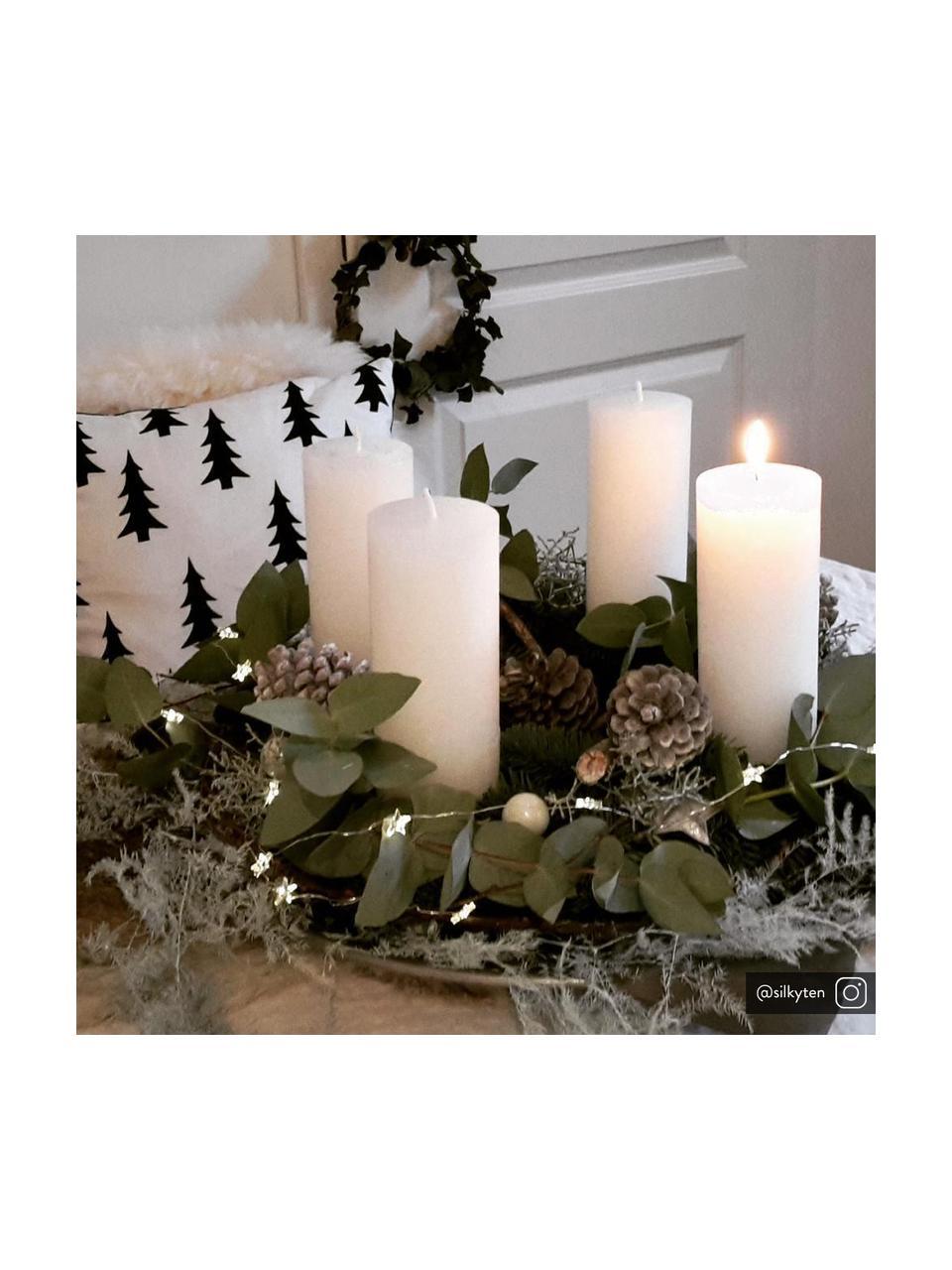 Svíčka Light, 2 ks, Bílá