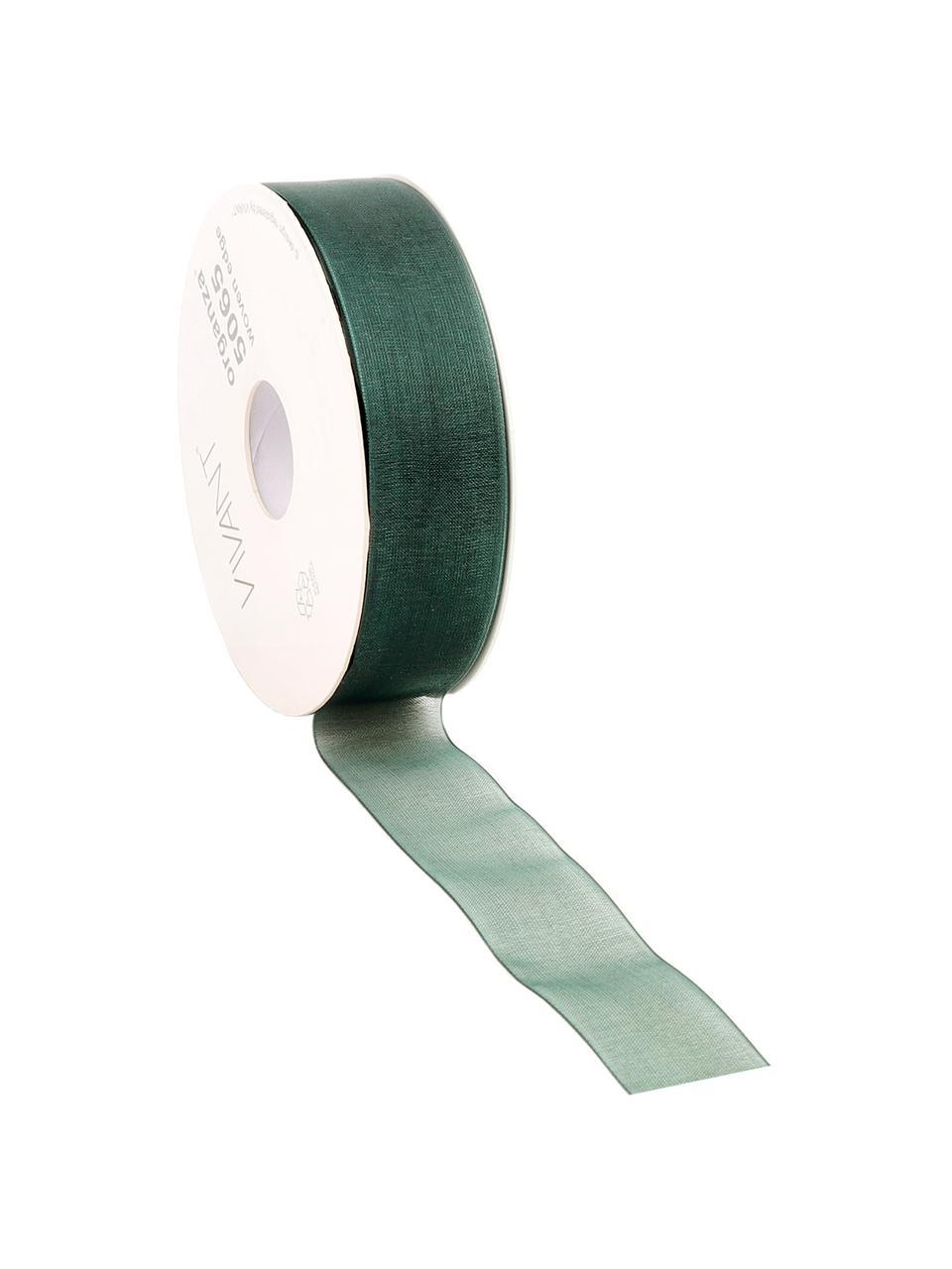 Geschenkband Origo, Polyester, Grün, 3 x 5000 cm