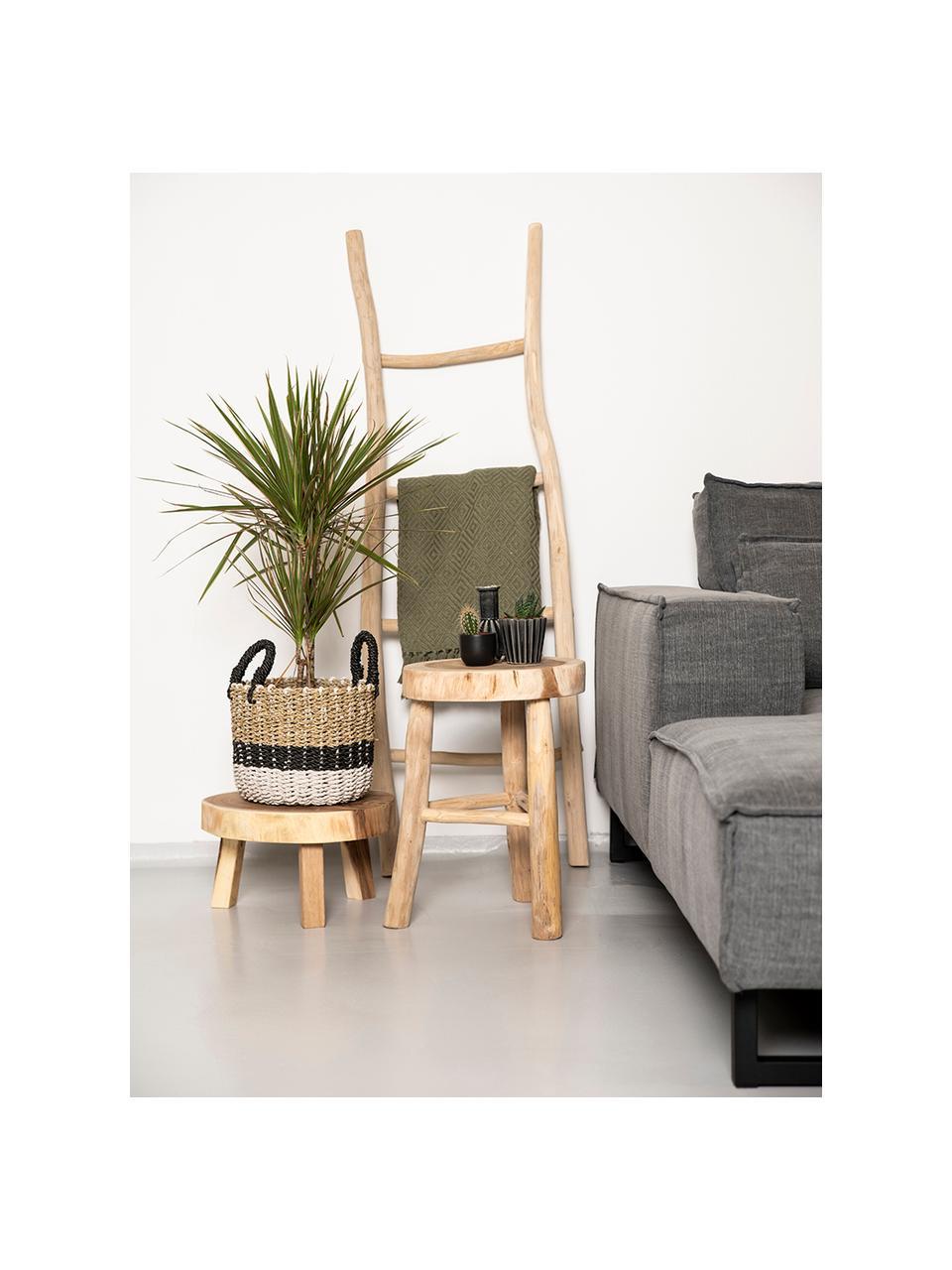 Handtuchleiter Token aus Teakholz, Teakholz, Braun, 45 x 150 cm