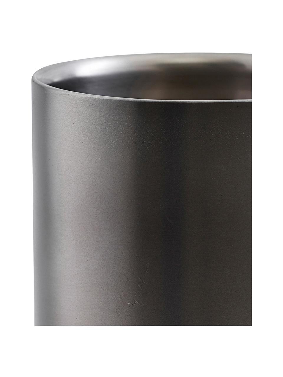 Refrigeratore bottiglie antracite opaco Gunmetal, Acciaio inossidabile rivestito, Antracite, Ø 12 x Alt. 20 cm