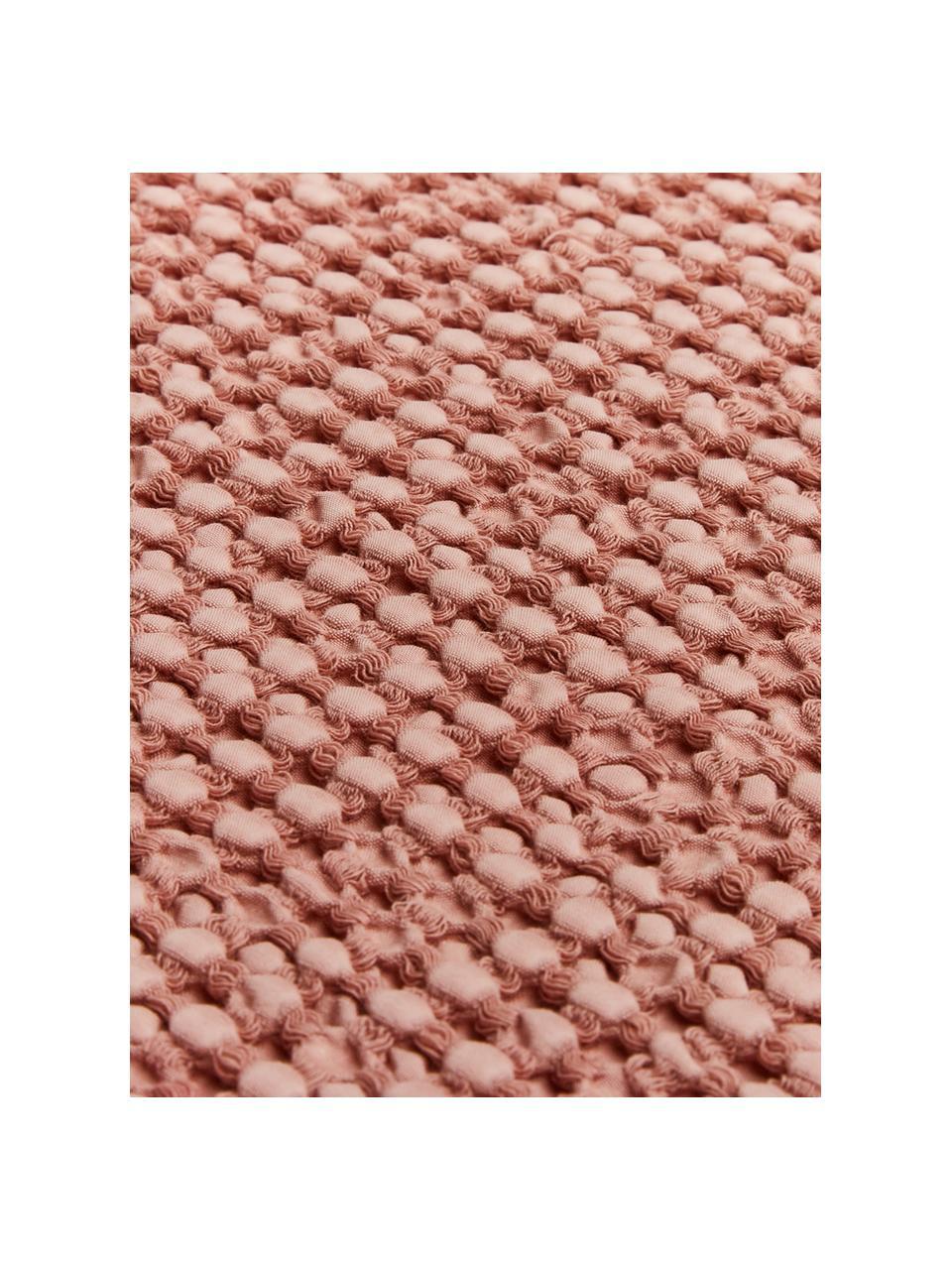Tagesdecke Vigo mit strukturierter Oberfläche, 100% Baumwolle, Helles Rosa, B 220 x L 240 cm (für Betten ab 160 x 200)