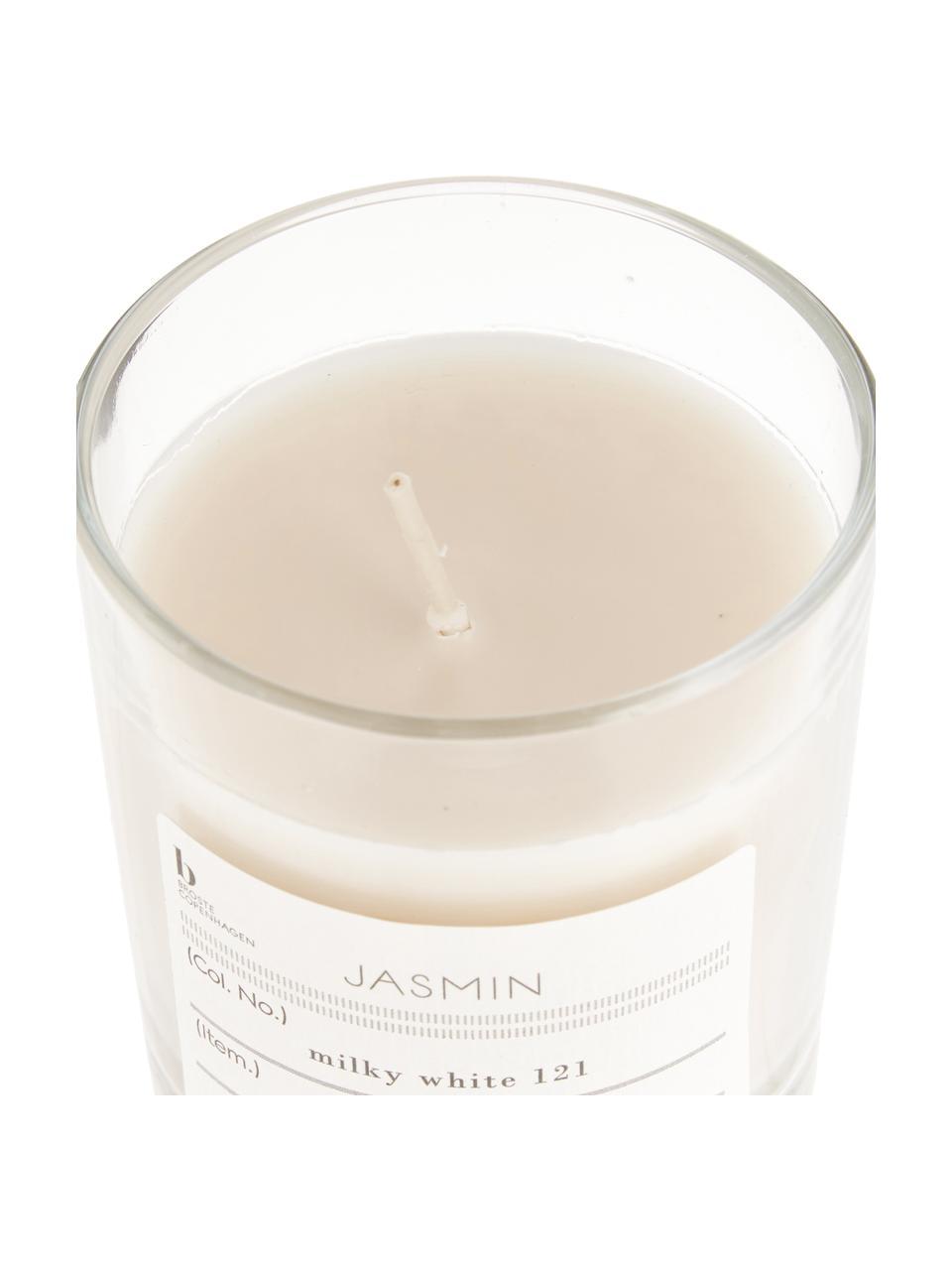 Vela perfumada Isabella (higo), Cera de soja natural, vidrio, Jazmín, Ø 8 x Al 8 cm