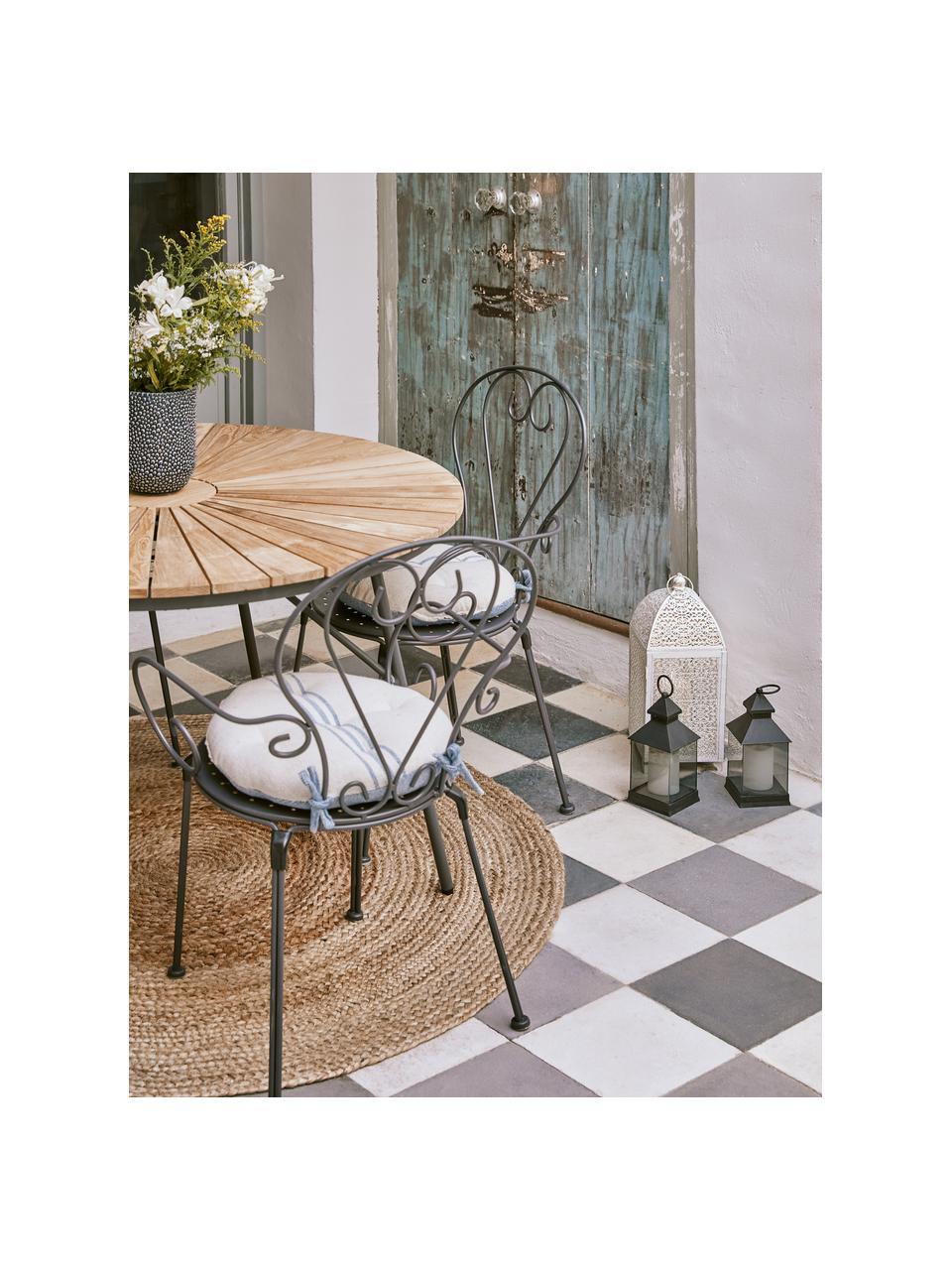 Okrągły ręcznie tkany dywan z juty Sharmila, 100% juta, Beżowy, Ø 100 cm (Rozmiar XS)