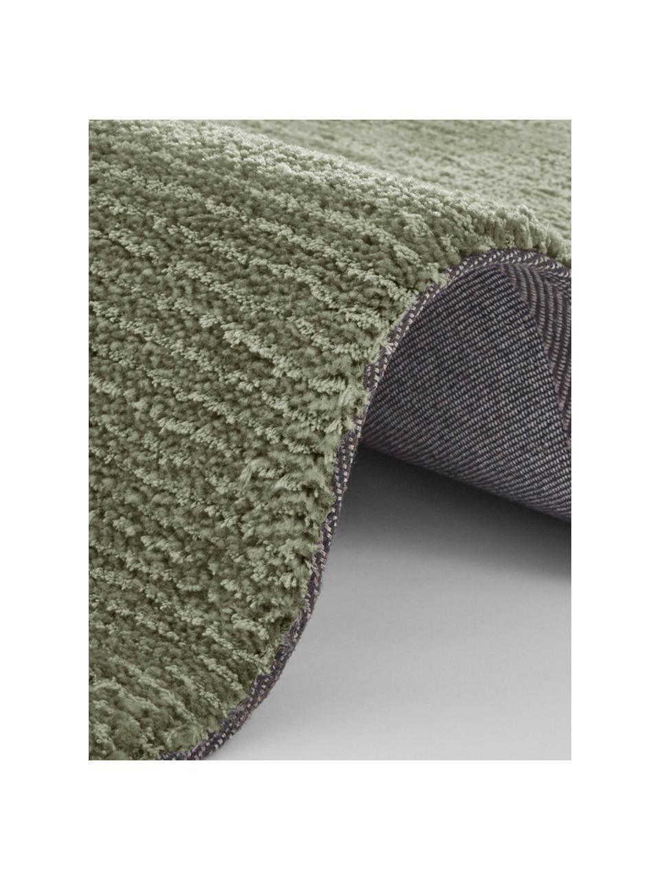 Teppich Supersoft, 100% Polyester, Moosgrün, B 200 x L 290 cm (Größe L)