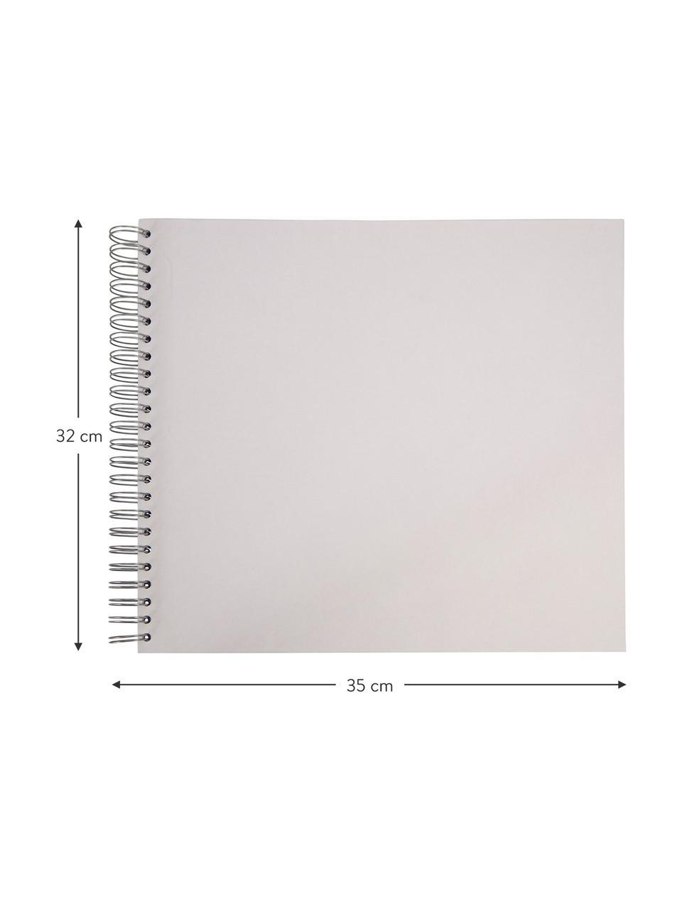 Fotoalbum Picture, Weiß, 35 x 32 cm
