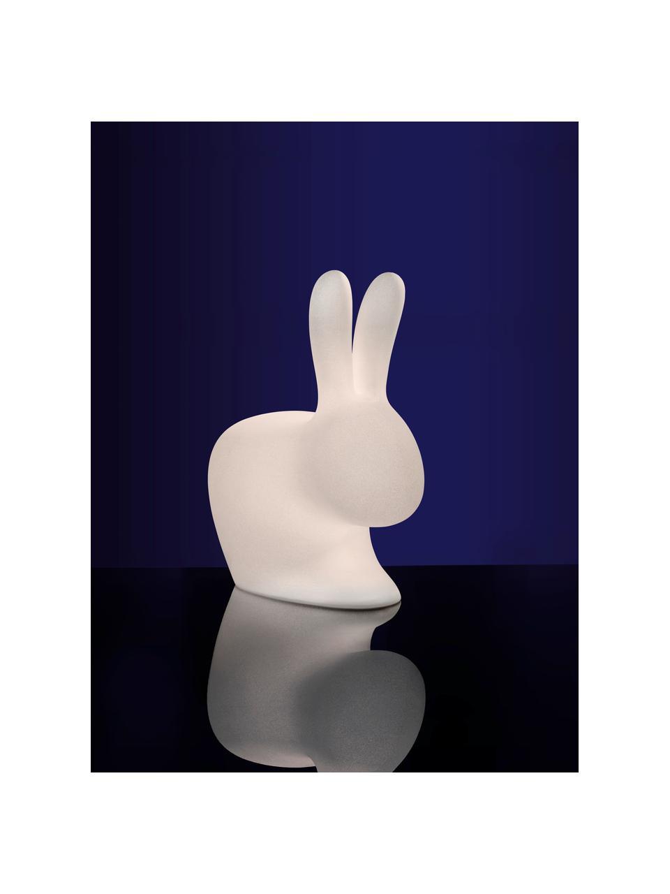 Bodenleuchte Rabbit, Kunststoff (Polyethylen), Weiß, 46 x 53 cm