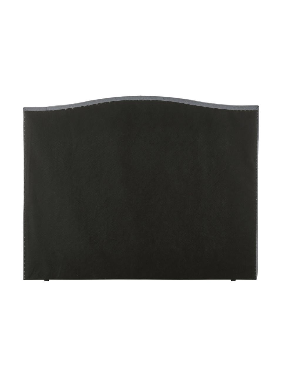 Letto Boxspring grigio con contenitore Premium Royal, Materasso: nucleo a 5 zone di molle , Piedini: legno di betulla massicci, Tessuto grigio, 200 x 200 cm