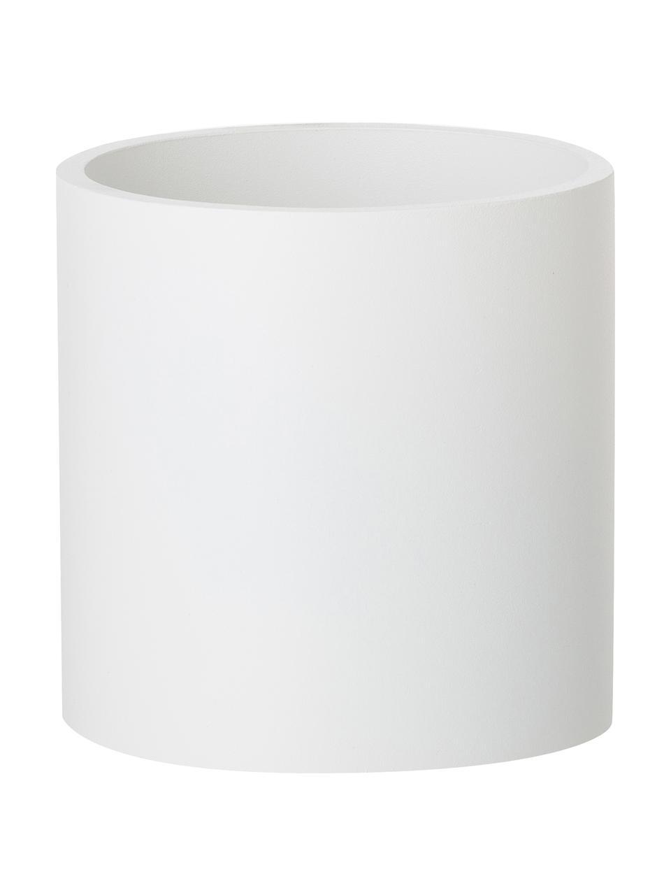 Wandleuchte Roda in Weiß, Lampenschirm: Aluminium, pulverbeschich, Weiß, 10 x 10 cm