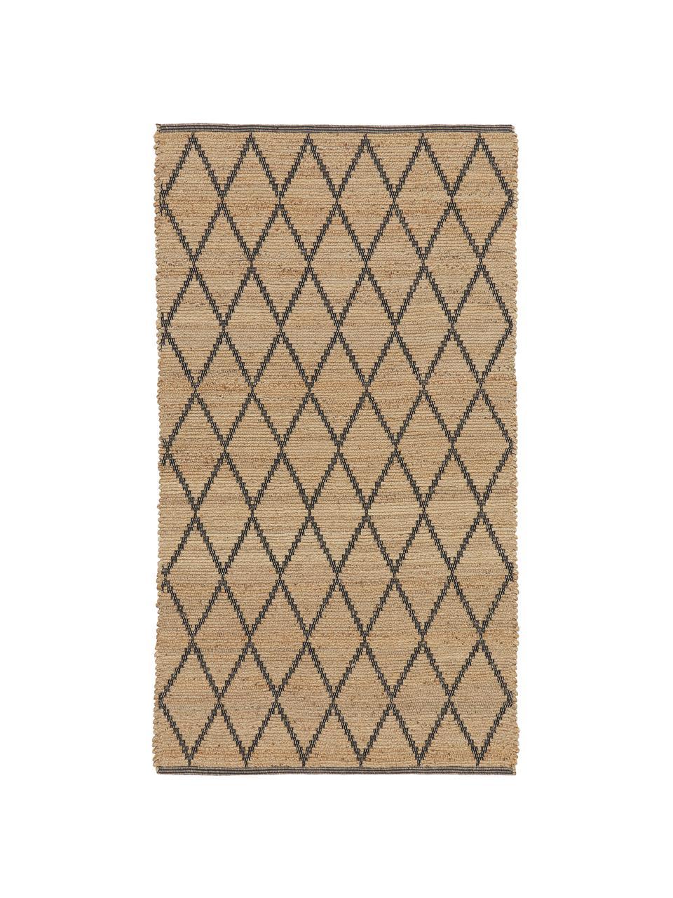 Ręcznie wykonany dywan z juty Atta, 100% juta, Beżowy, S 200 x D 300 cm (Rozmiar L)