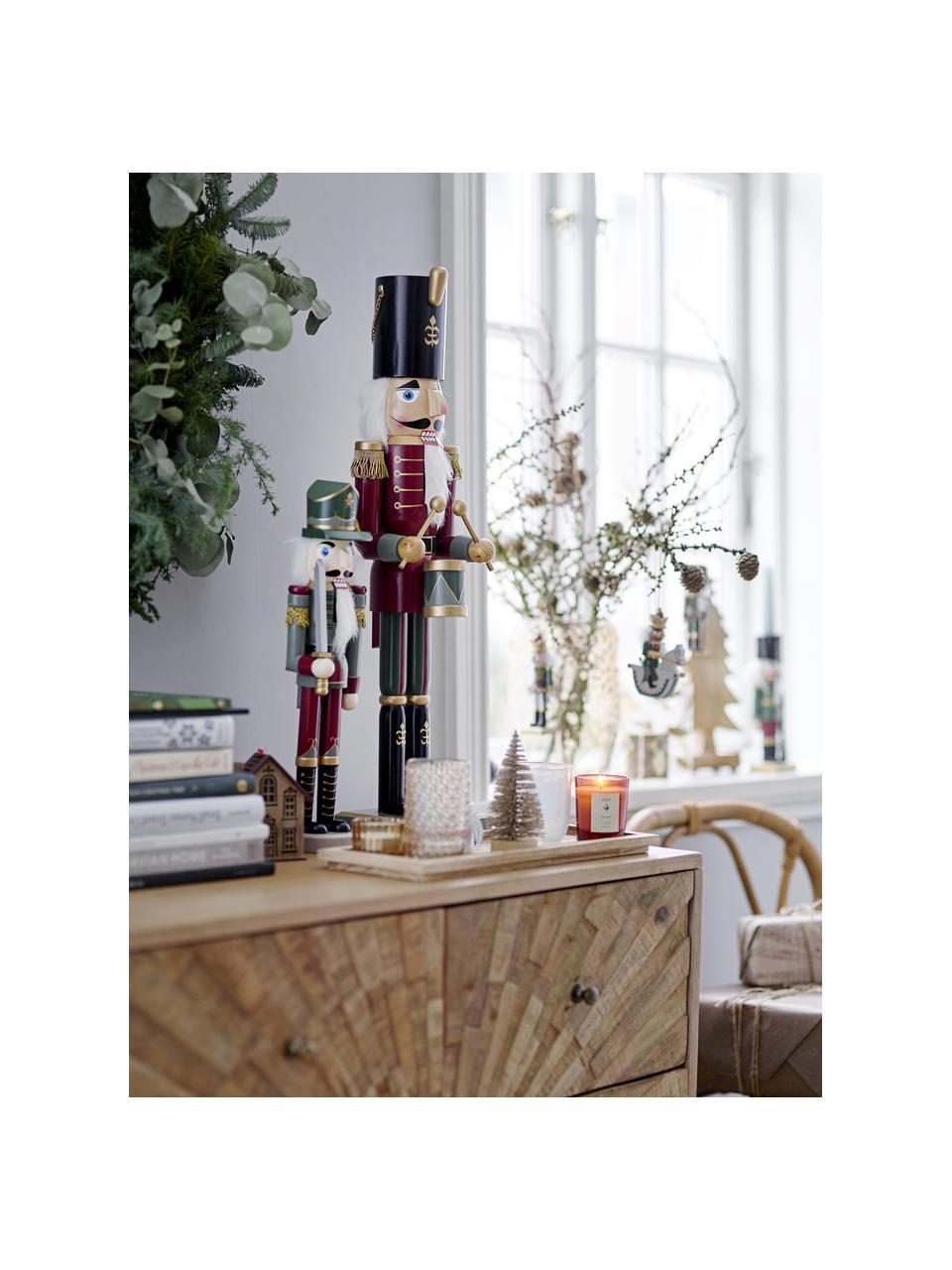 Teelichthalter-Set Otine, 6-tlg., Glas, Goldfarben, Beige, Weiß, Set mit verschiedenen Größen