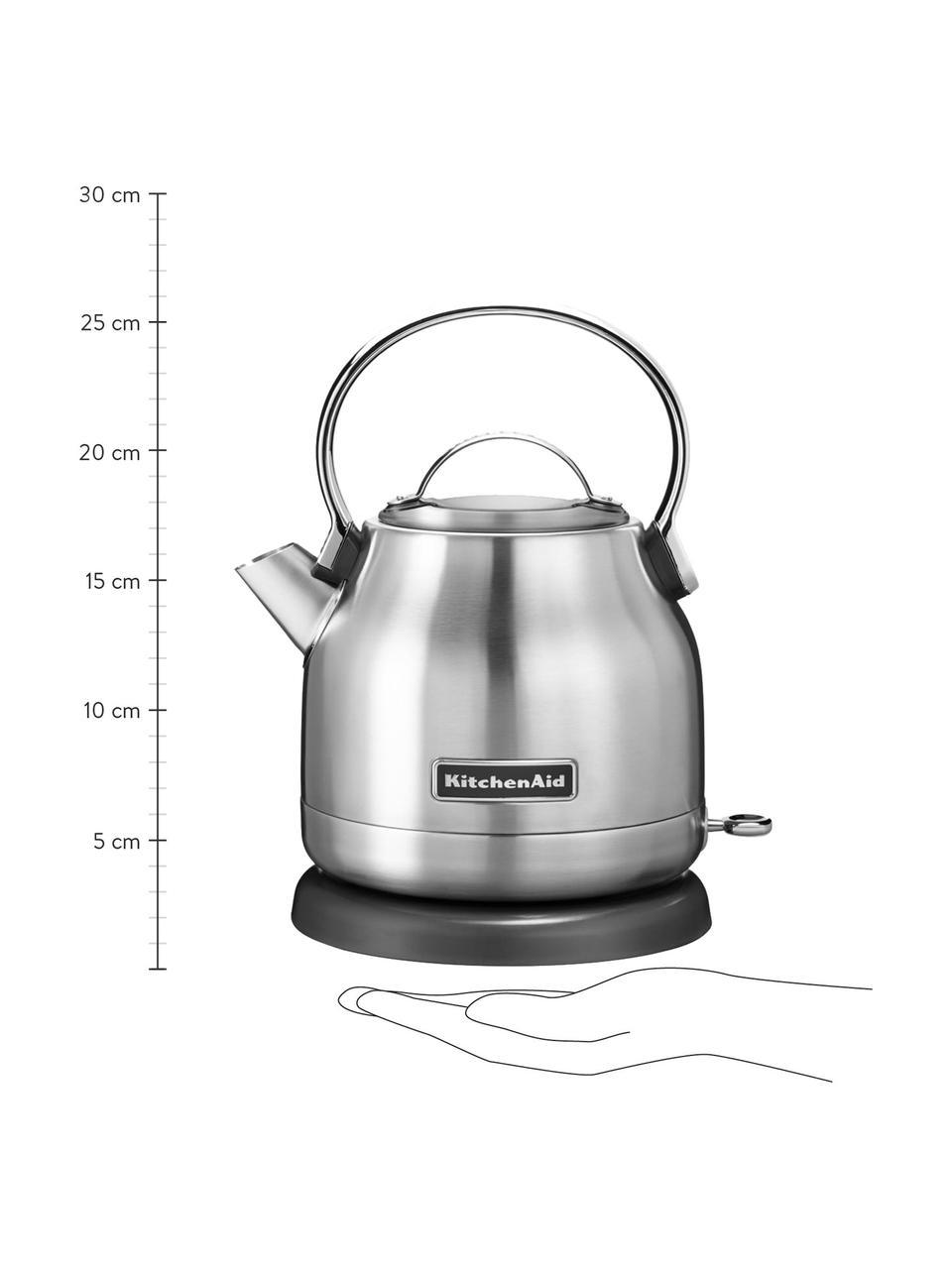 Wasserkocher KitchenAid, Edelstahl, Edelstahl, 23 x 18 cm