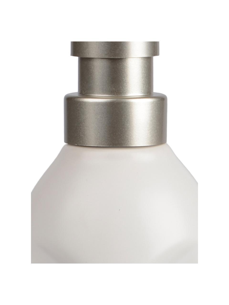Dozownik do mydła Urban, Biały, metal, Ø 7 x W 19 cm