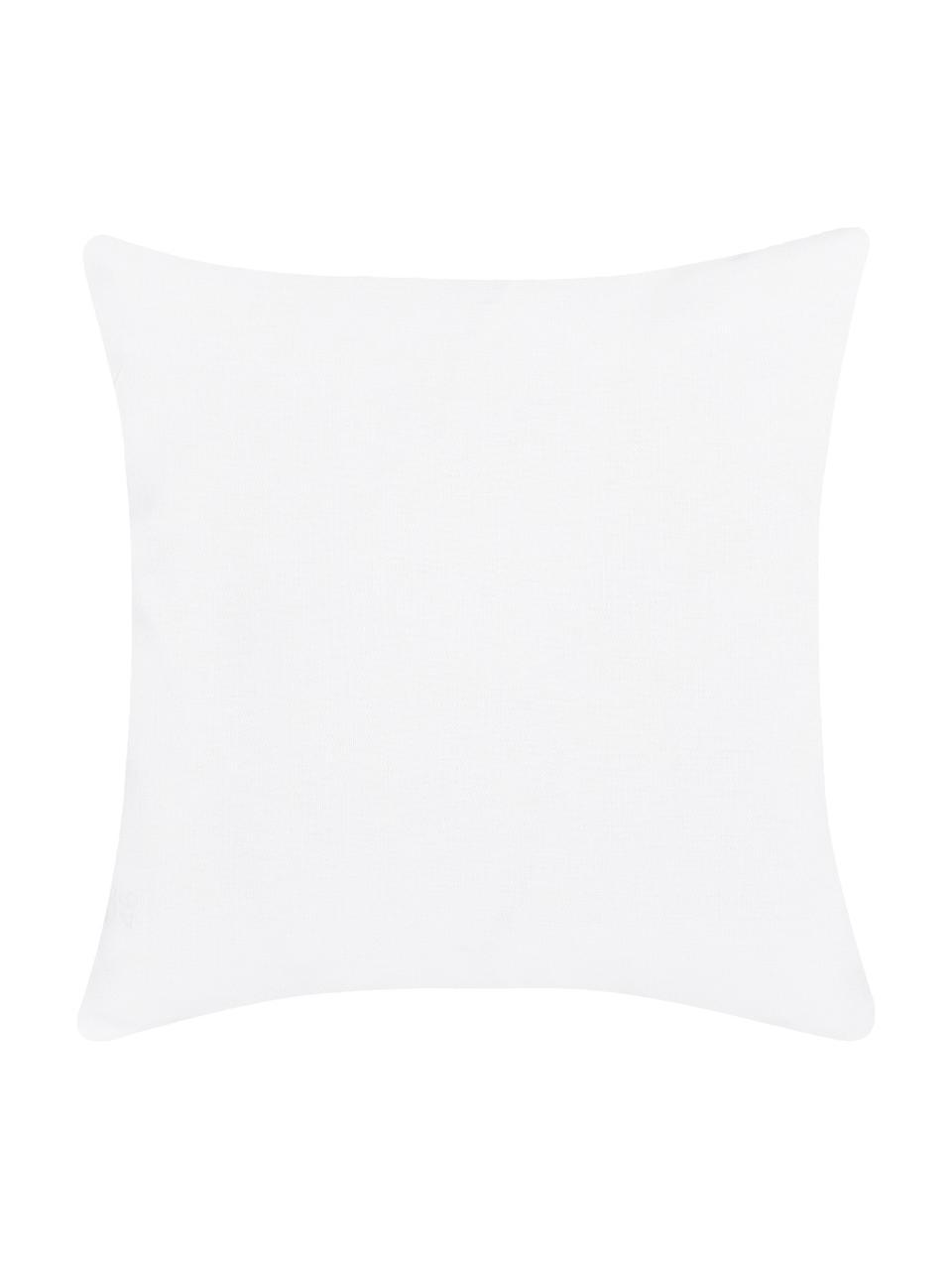 Poszewka na poduszkę Merry Christmas, Bawełna, Biały, czarny, S 40 x D 40 cm