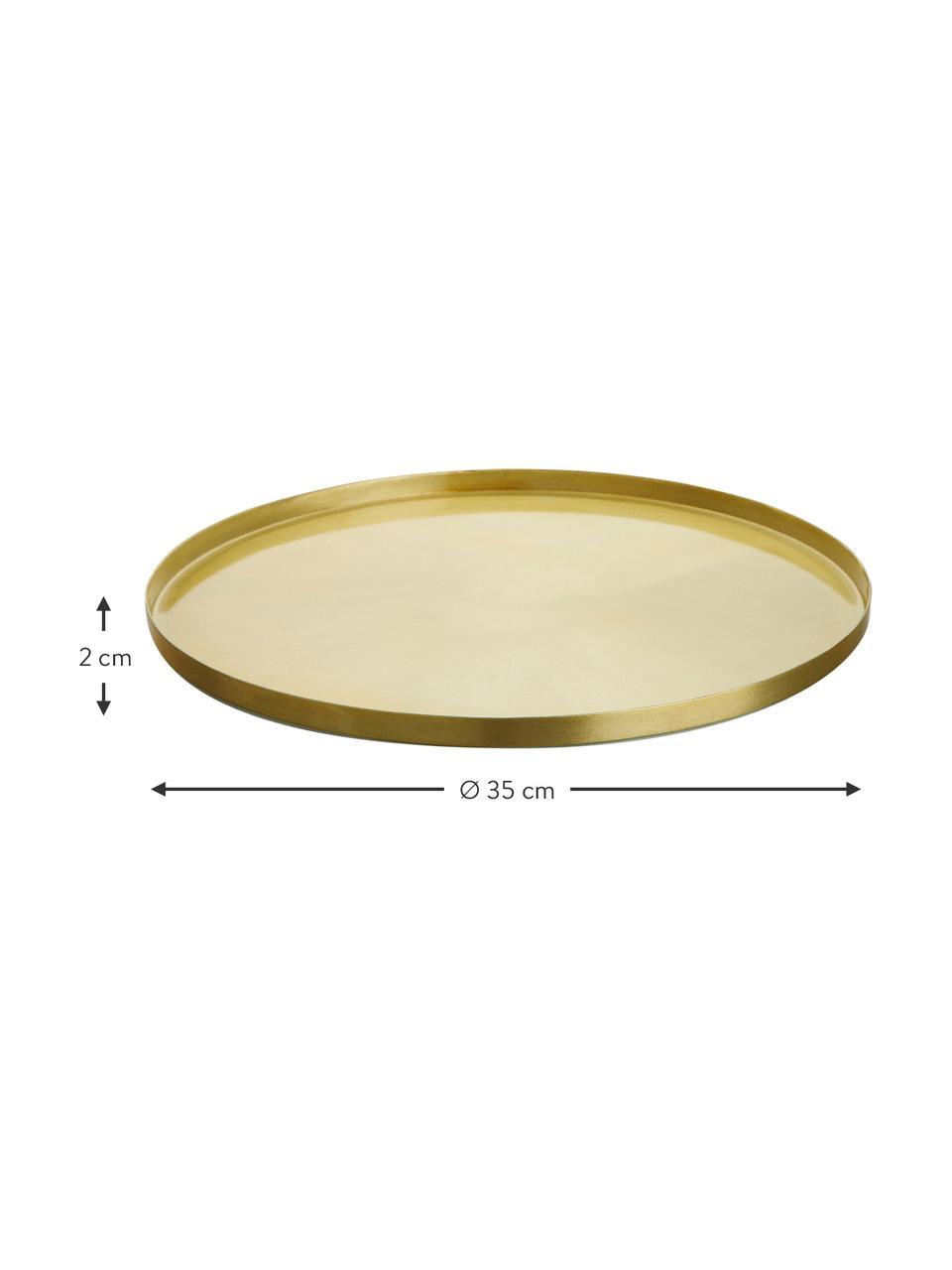 Taca Tolne, Aluminium, mosiądz, Mosiądz, Ø 35 cm