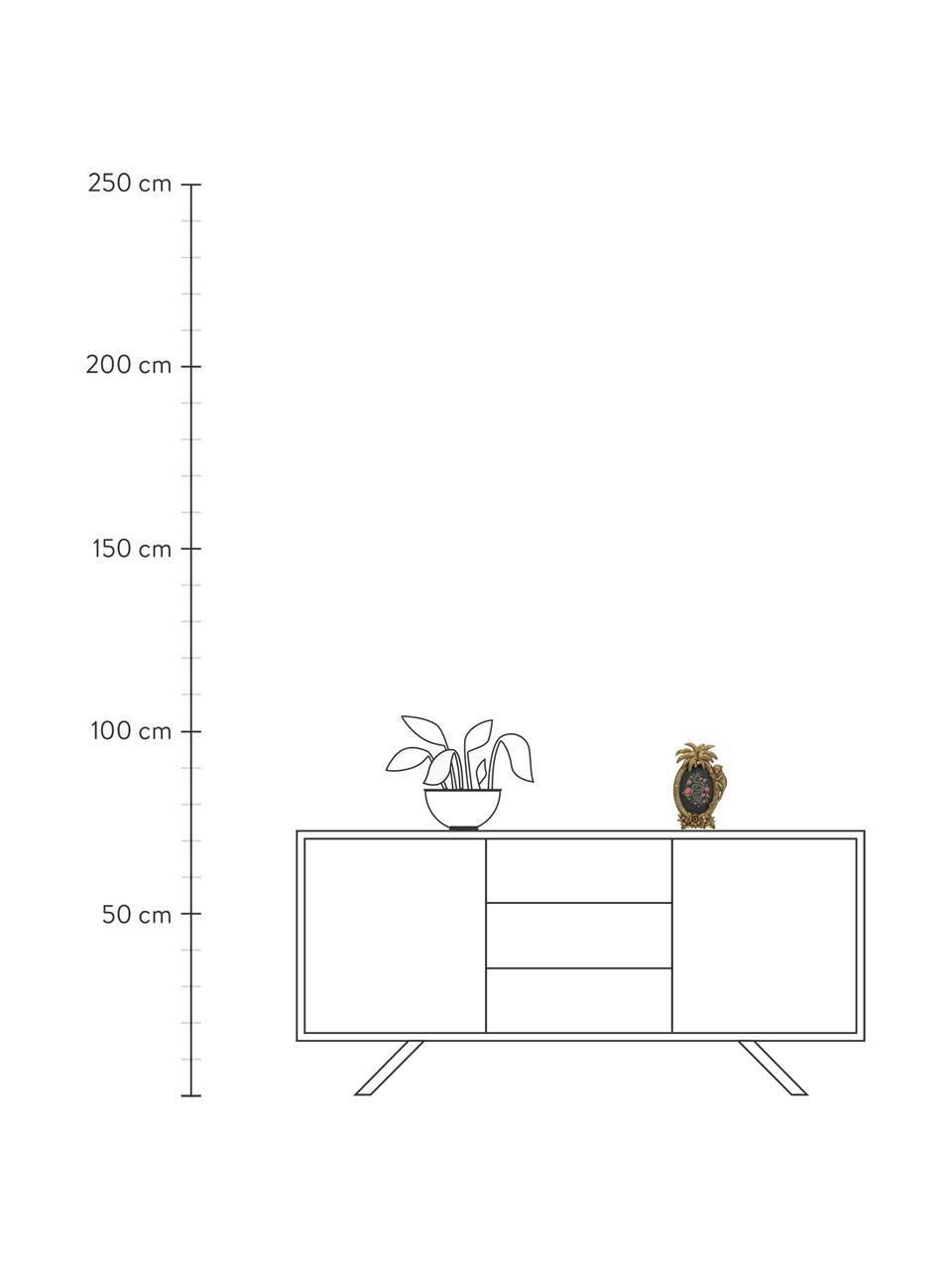 Bildrahmen Monkey, Polyresin, Goldfarben, 10 x 15 cm