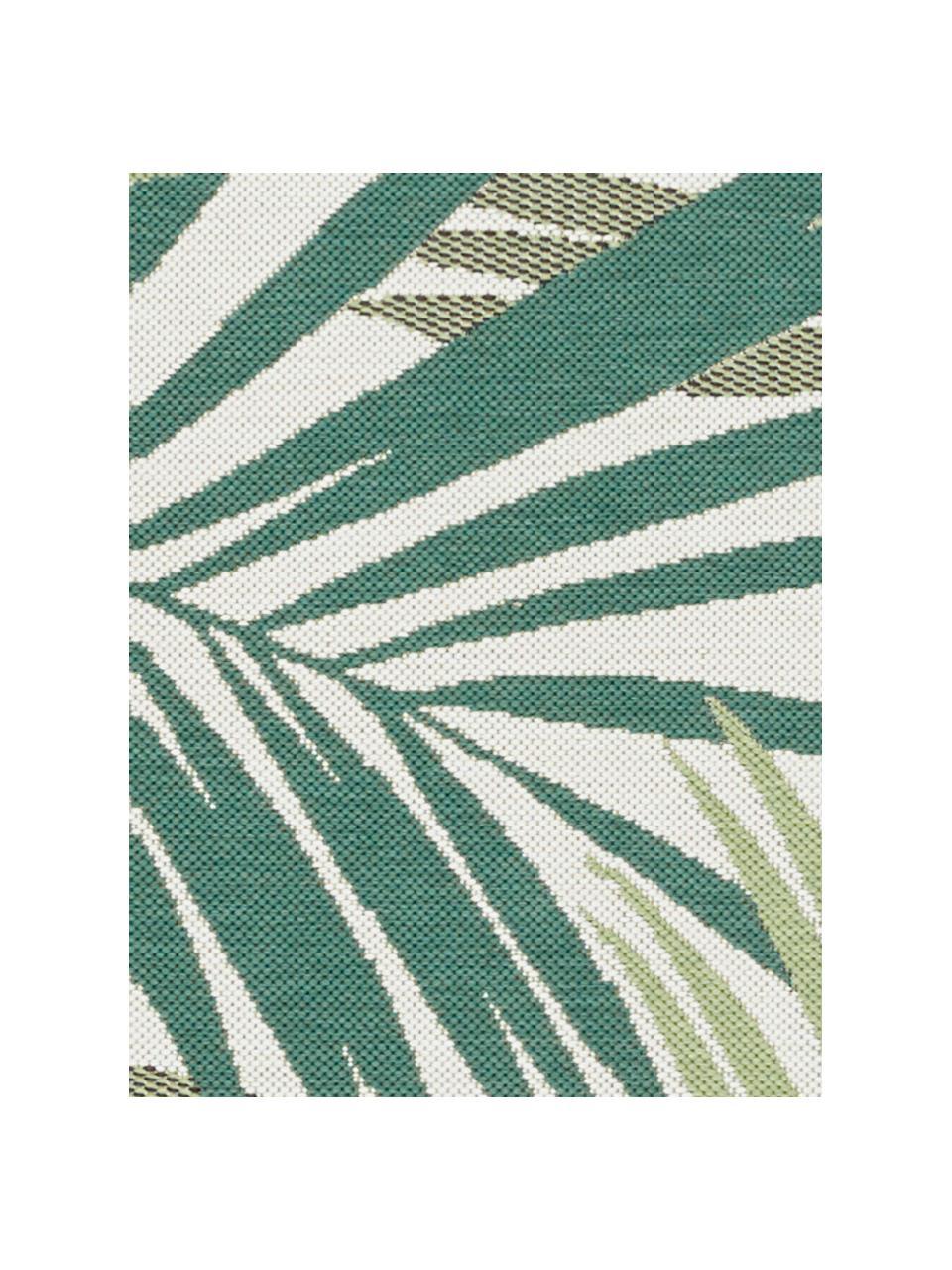 In- & Outdoor-Teppich Vai mit Blattmuster, 100% Polypropylen, Grüntöne, Beige, B 200 x L 290 cm (Größe L)