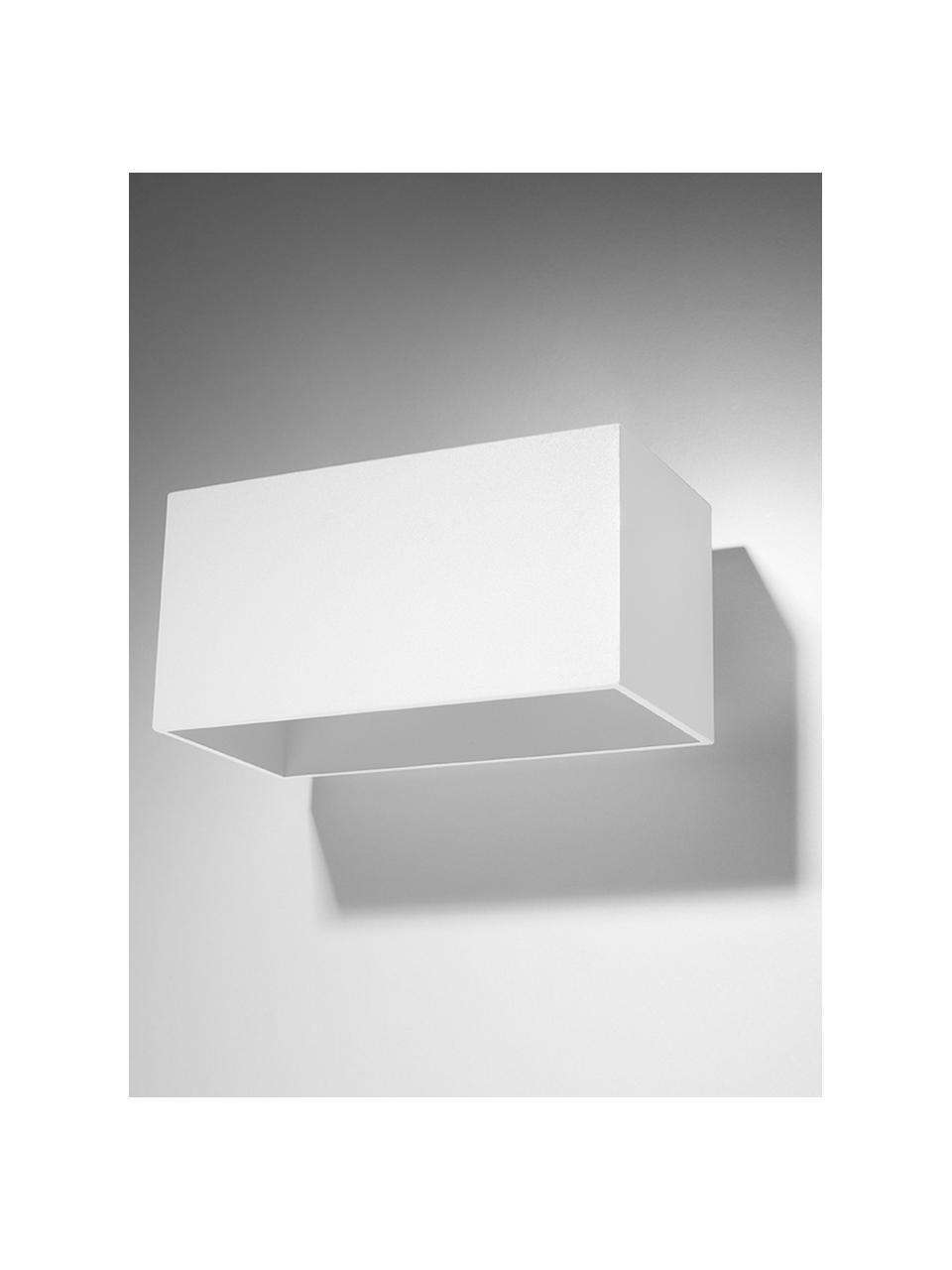 Applique murale moderne blanche Geo Maxi, Blanc