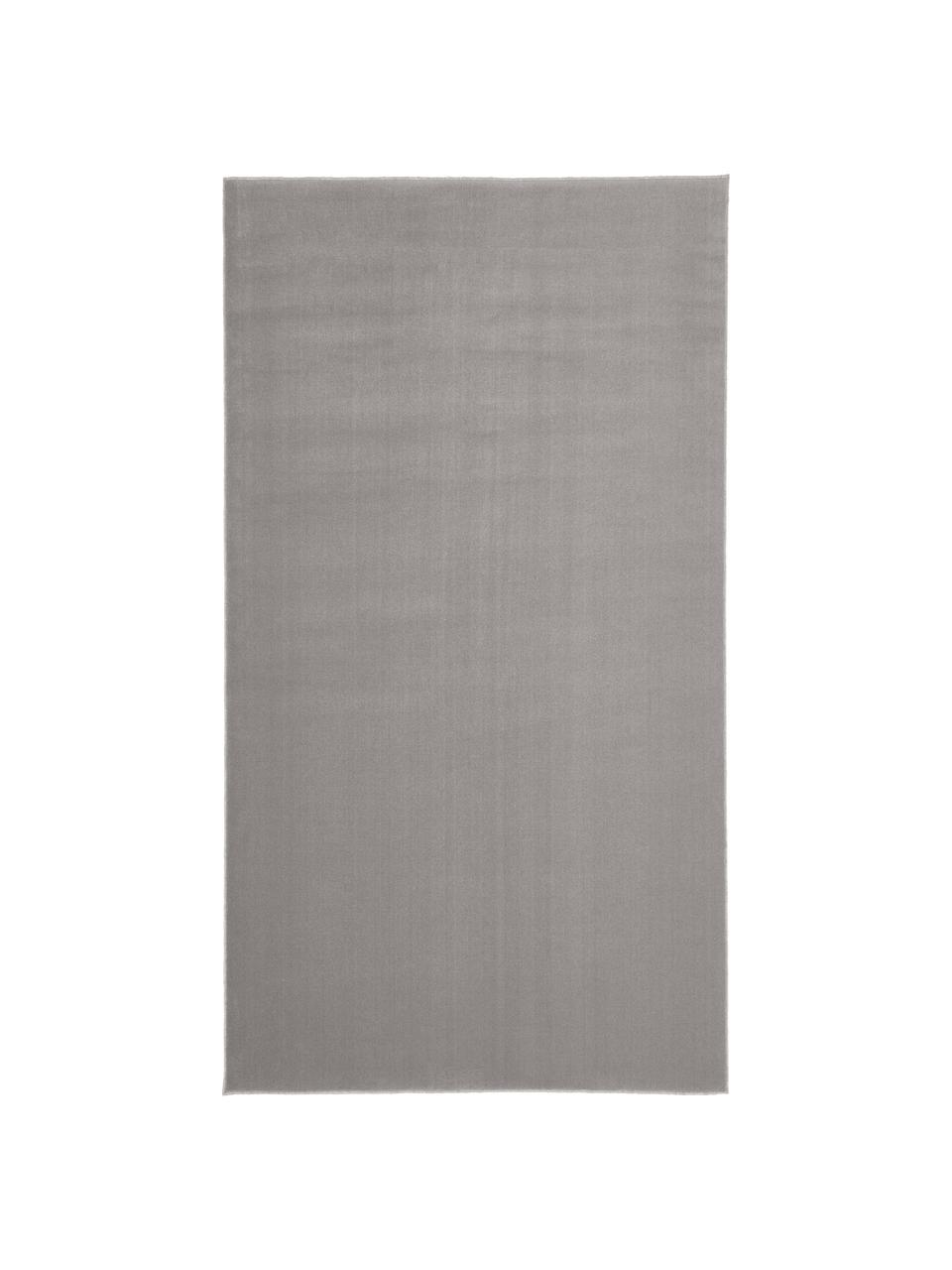 Tappeto in lana grigia Ida, Retro: 60% juta, 40% poliestere , Grigio, Larg. 300 x Lung. 400 cm (taglia XL)