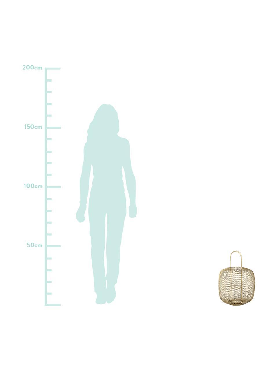 Latarenka Boden, Odcienie mosiądzu, Ø 34 x W 48 cm