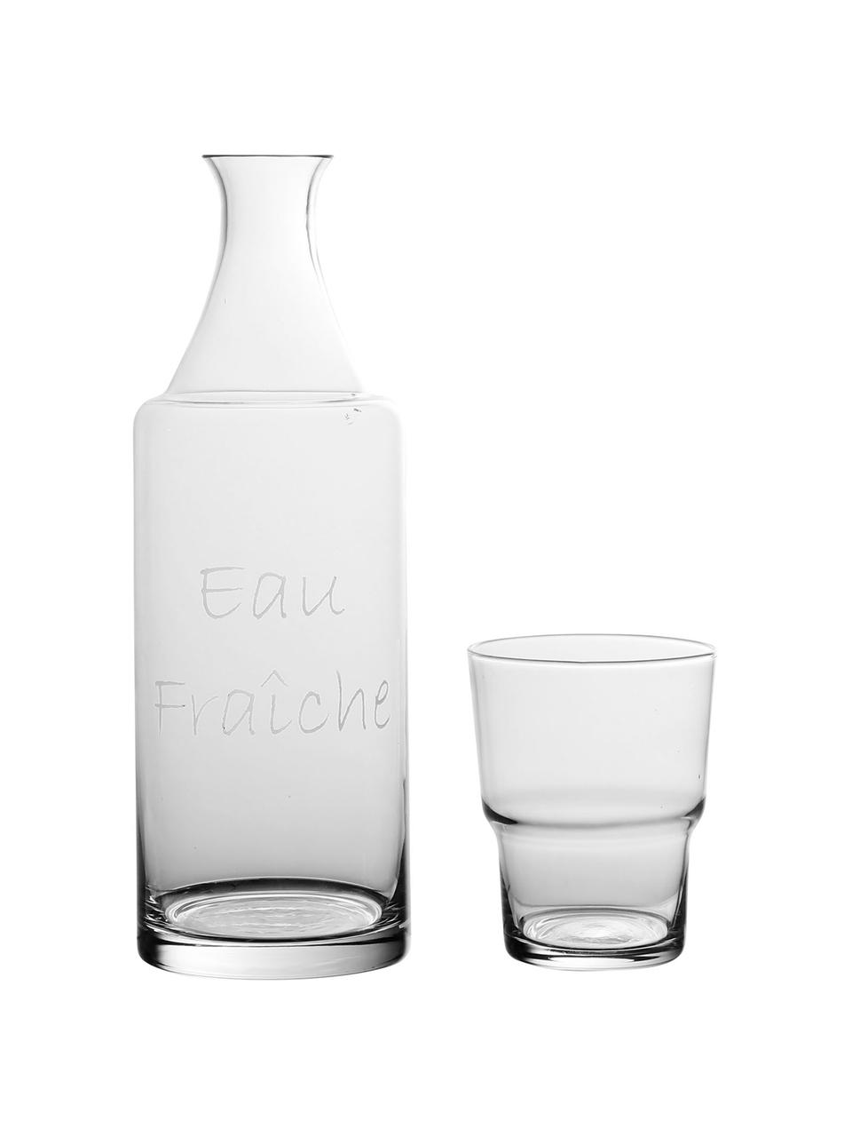 Carafe avec tasse Pilla, 2élém., Transparent