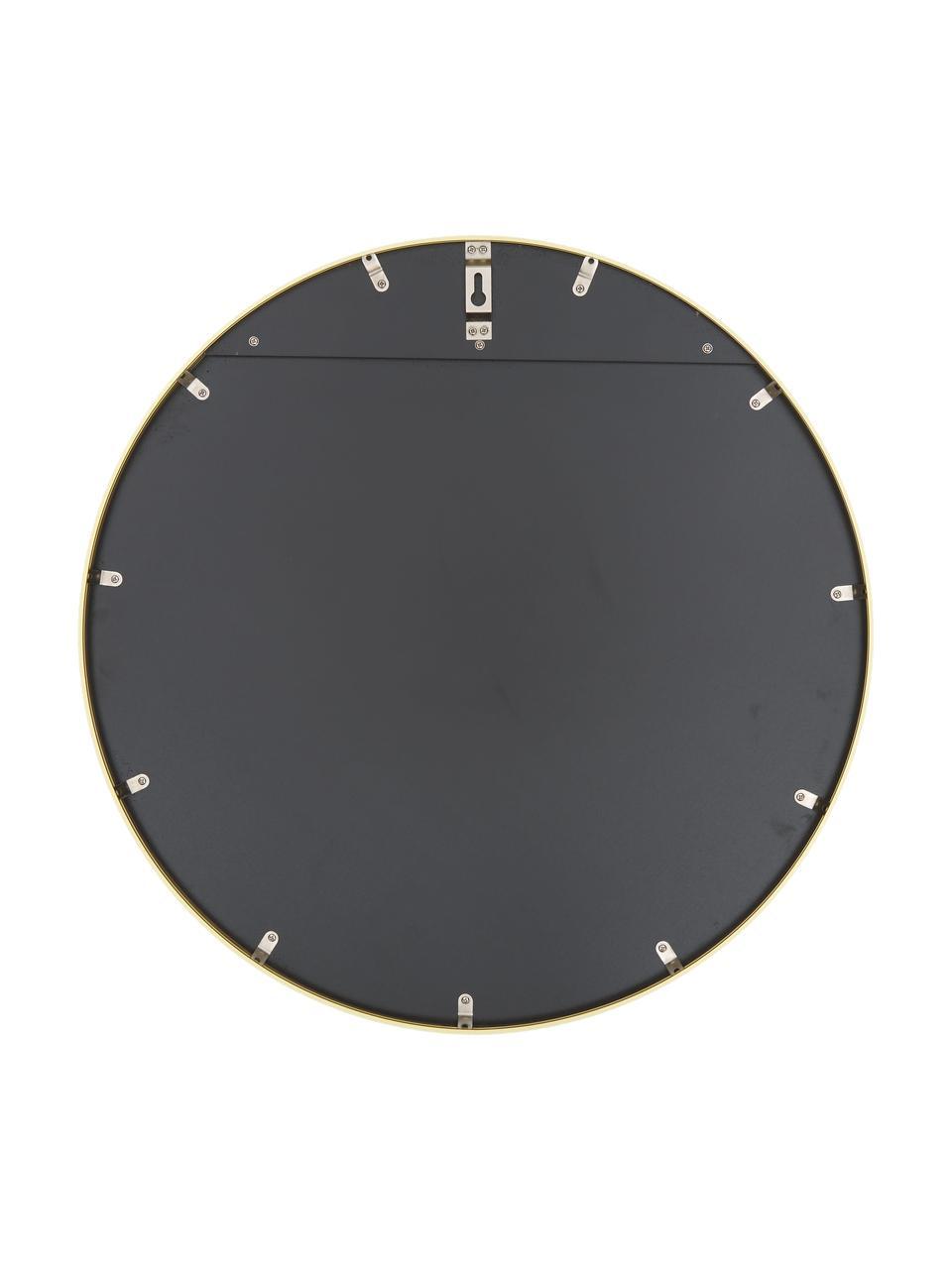 Okrągłe lustro ścienne Ida, Złoty, Ø 55 cm