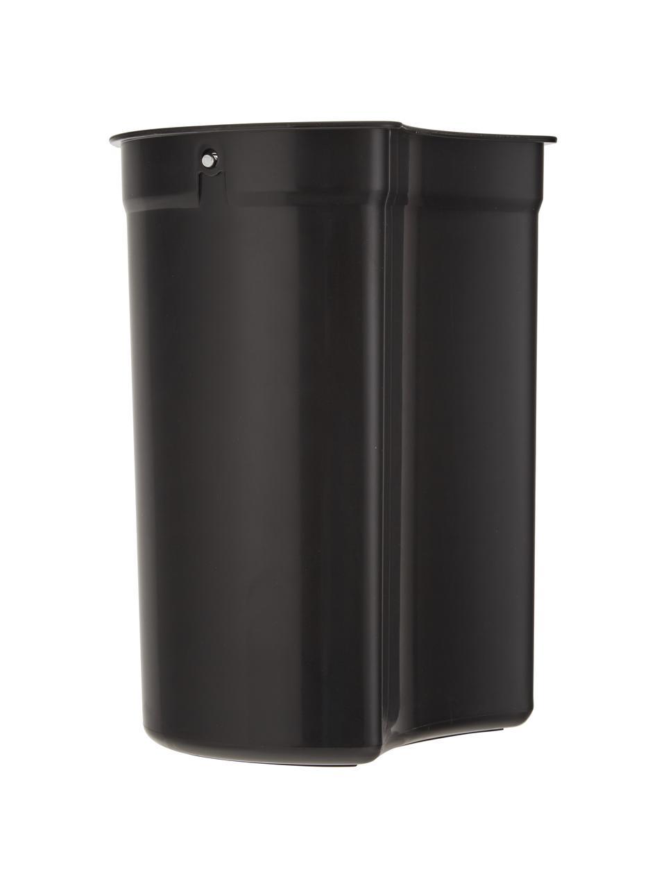 Pattumiera con coperchio softmotion Nova, Materiale sintetico ABS, Bianco, Ø 23 x Alt. 29 cm