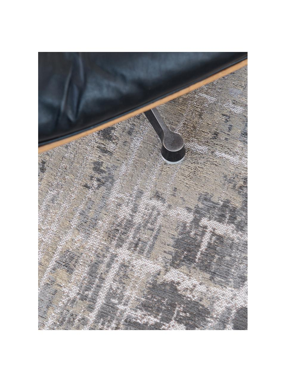 Tapis design vintage gris Streaks, Tonsgris