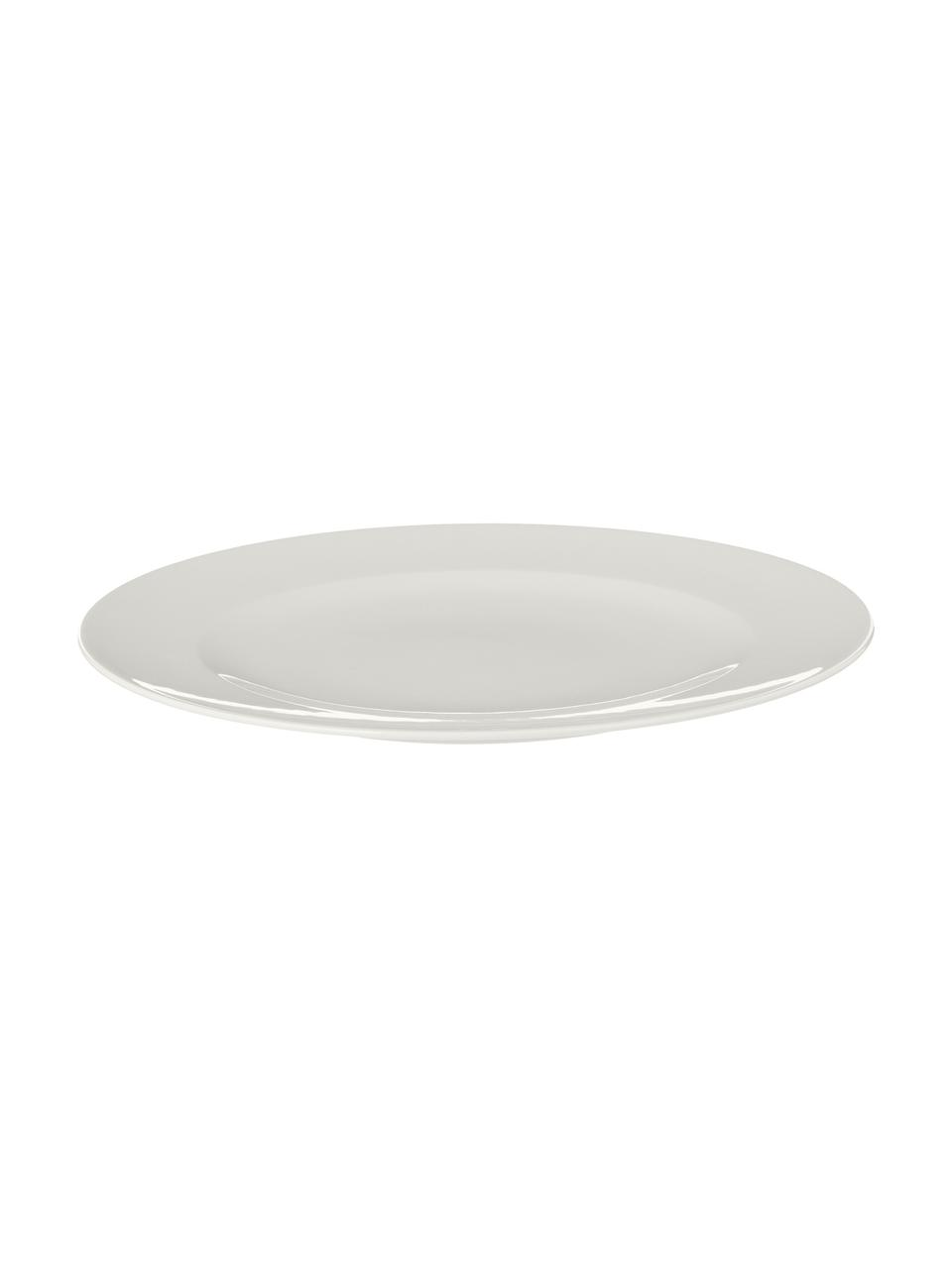 Komplet naczyń z porcelany For Me, 16 elem., Porcelana, Złamana biel, Komplet z różnymi rozmiarami